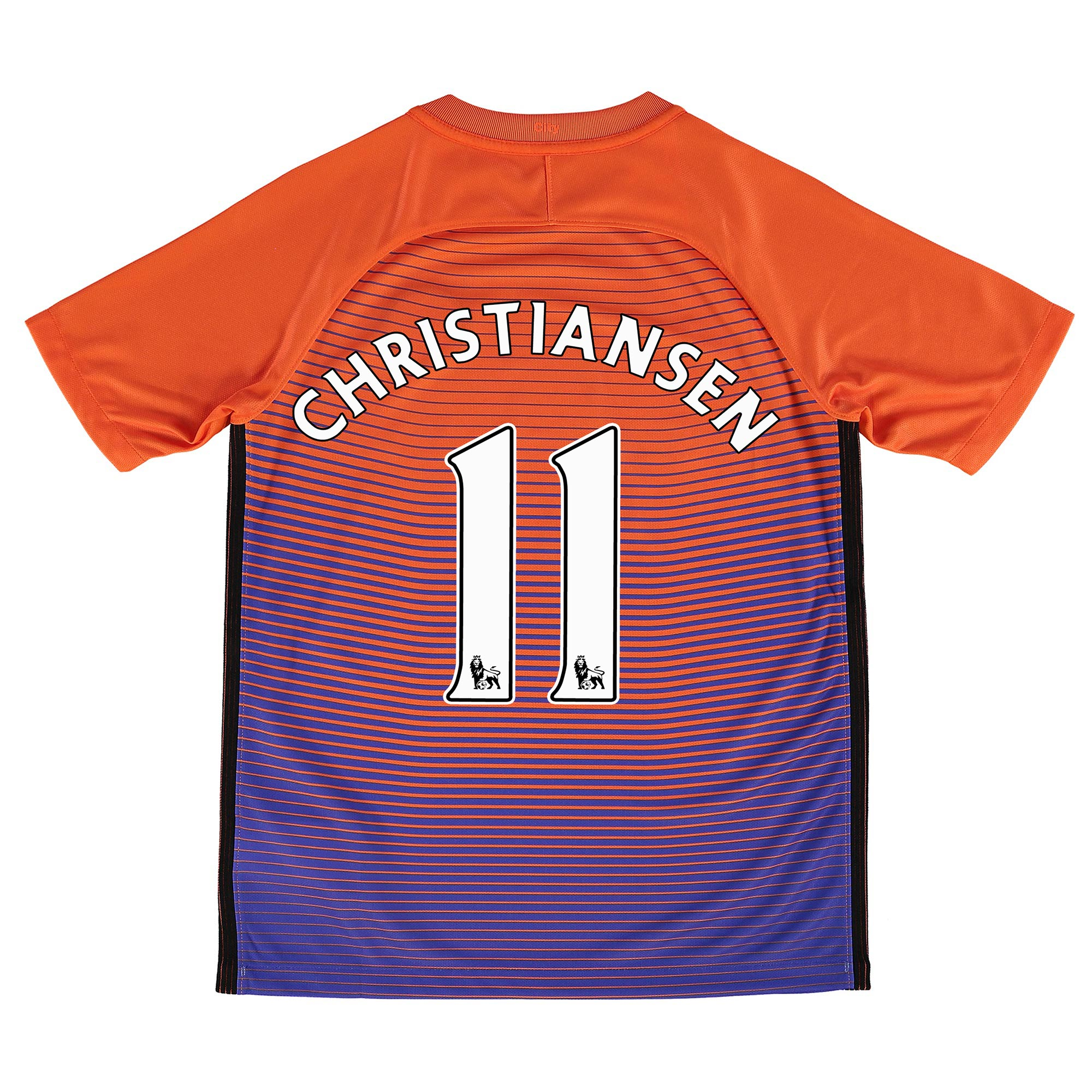 Manchester City Third Stadium Shirt 2016-17 - Kids with Christiansen 1