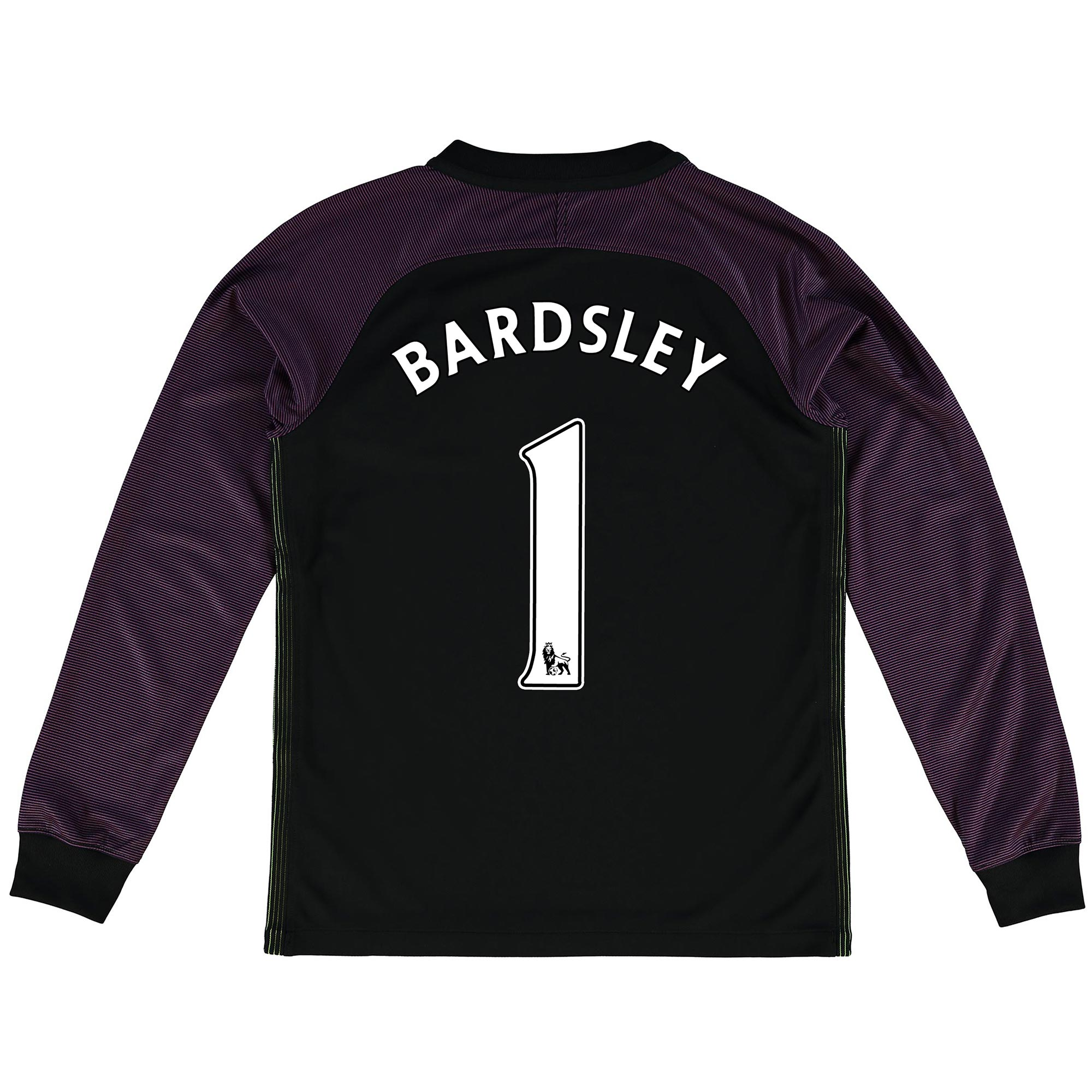 Manchester City Stadium Goalkeeper Shirt 2016-17 - Kids with Bardsley