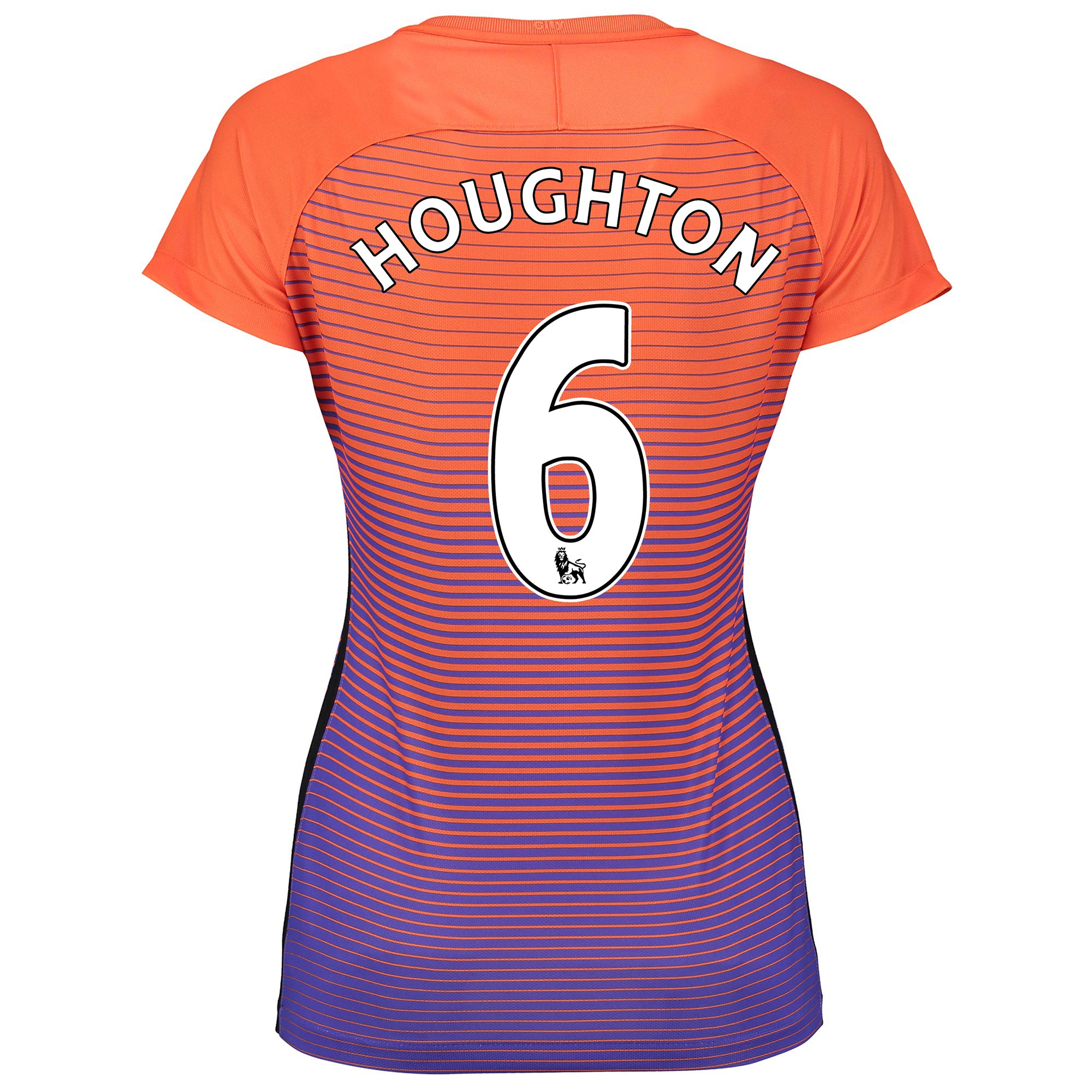 Manchester City Third Stadium Shirt 2016-17 - Womens with Houghton 6 p