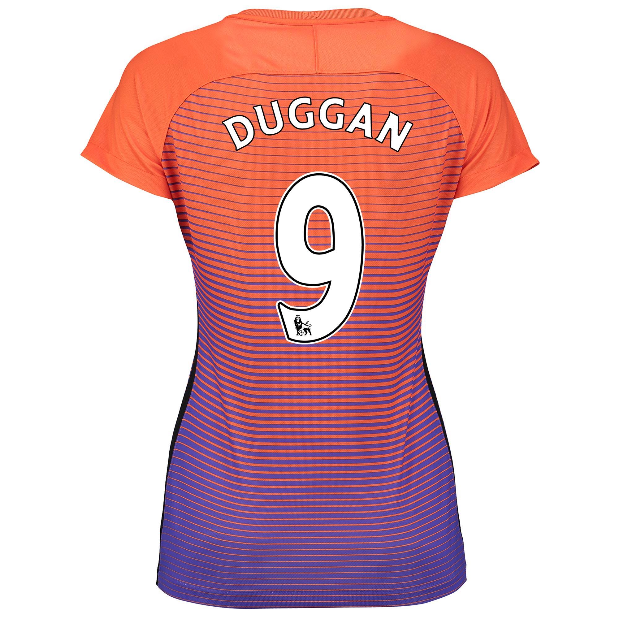 Manchester City Third Stadium Shirt 2016-17 - Womens with Duggan 9 pri