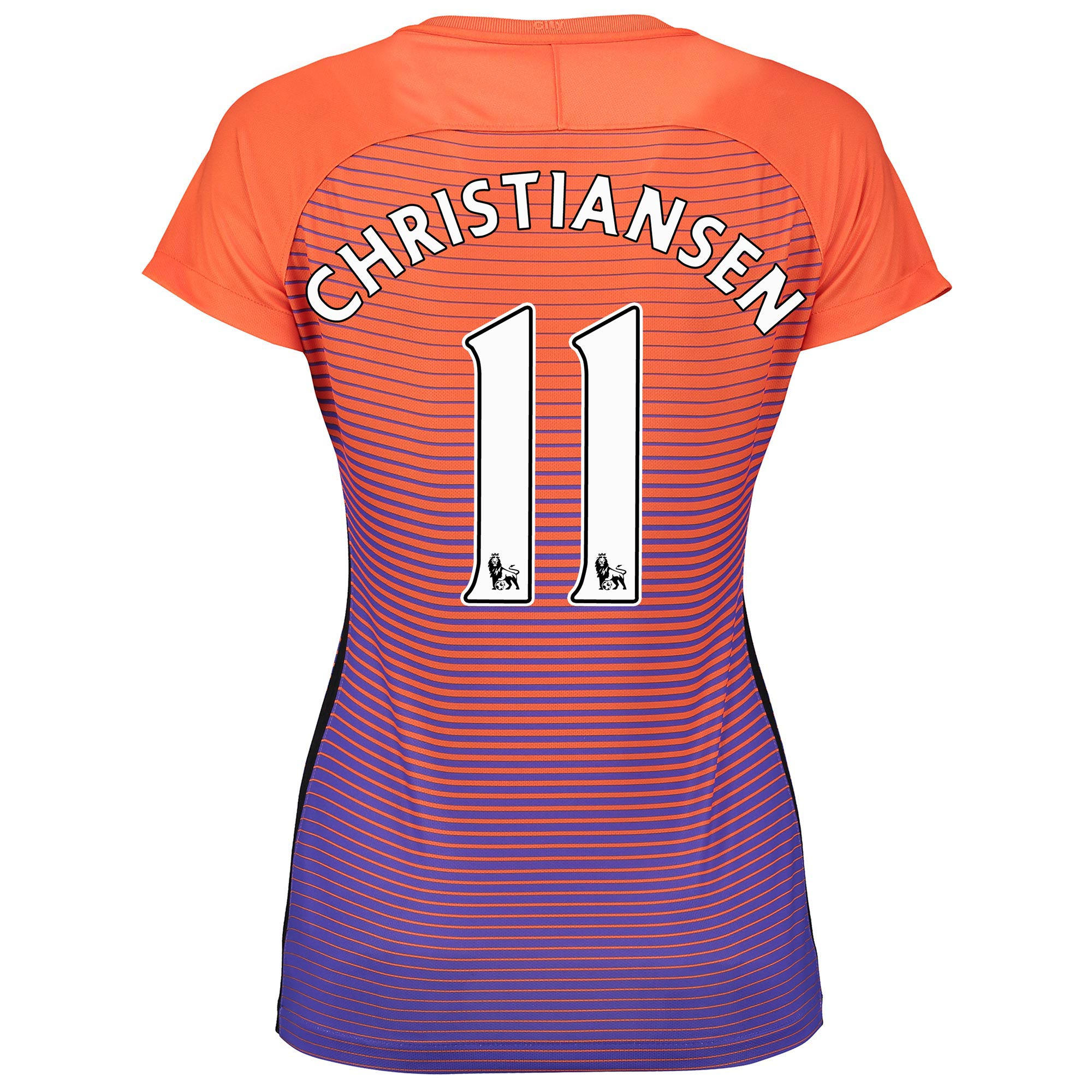 Manchester City Third Stadium Shirt 2016-17 - Womens with Christiansen