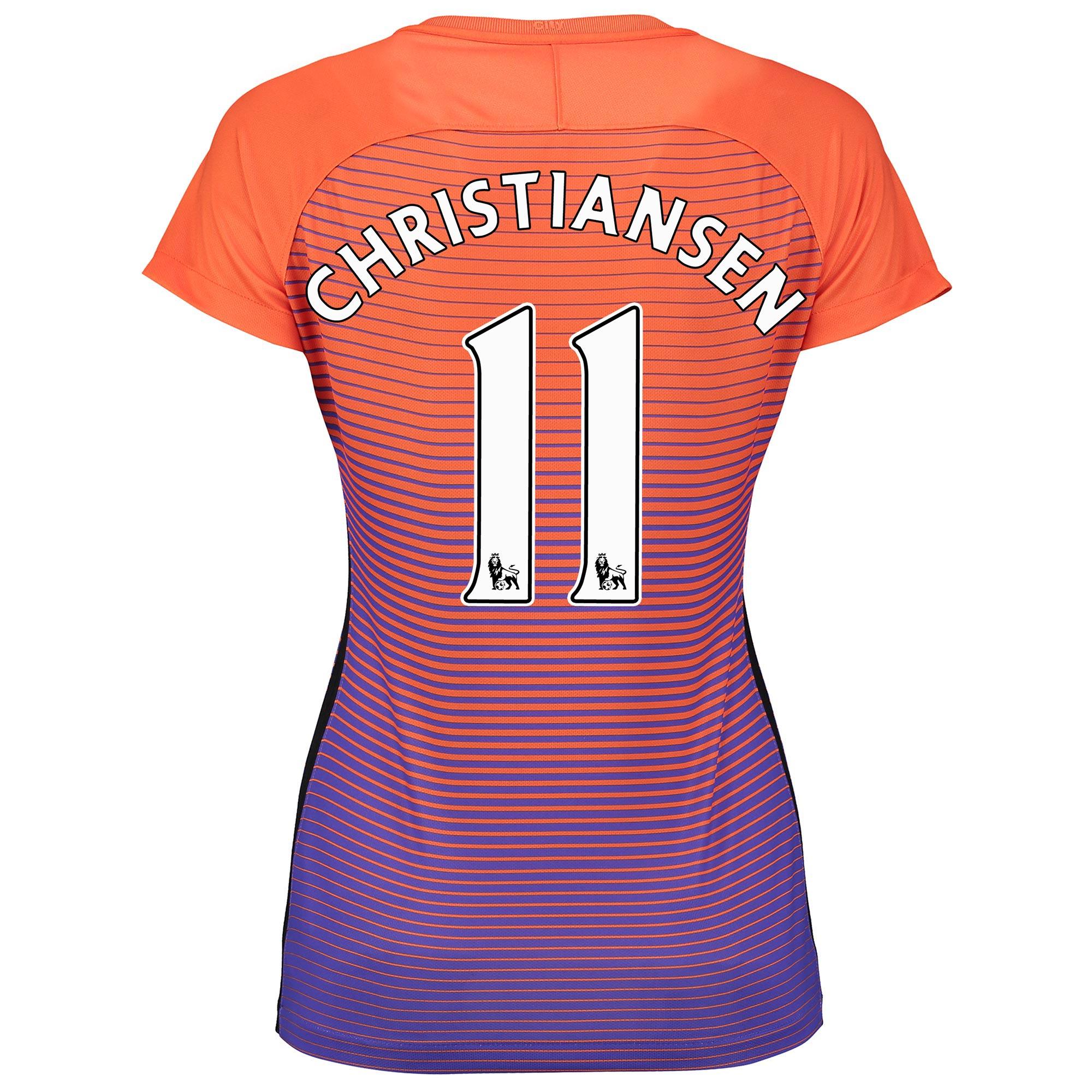 Manchester City Third Stadium Shirt 2016-17 - Womens with Christiansen
