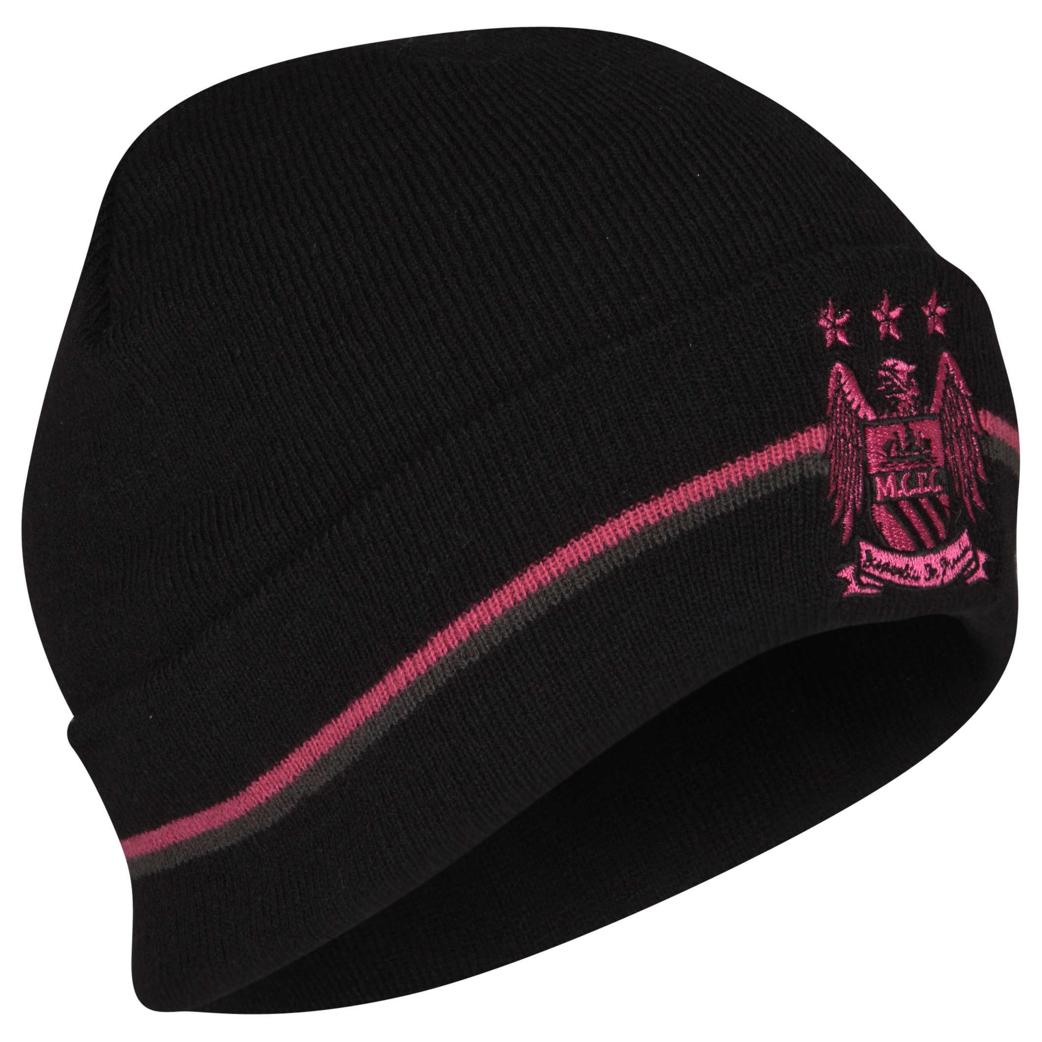 Manchester City Essentials Bronx Hat - Black/Pink- Ladies