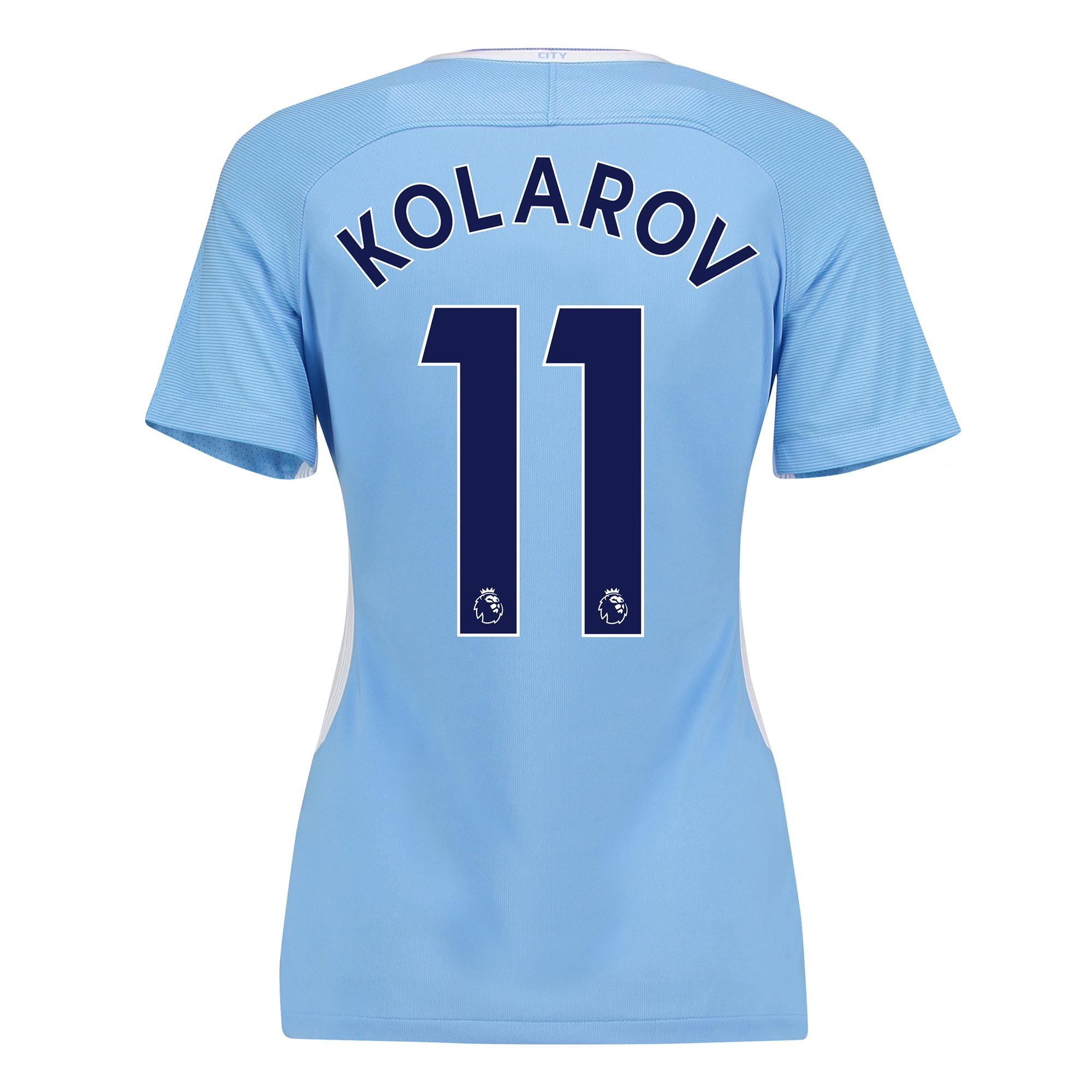 Manchester City Home Stadium Shirt 2017-18 - Womens with Kolarov 11 pr