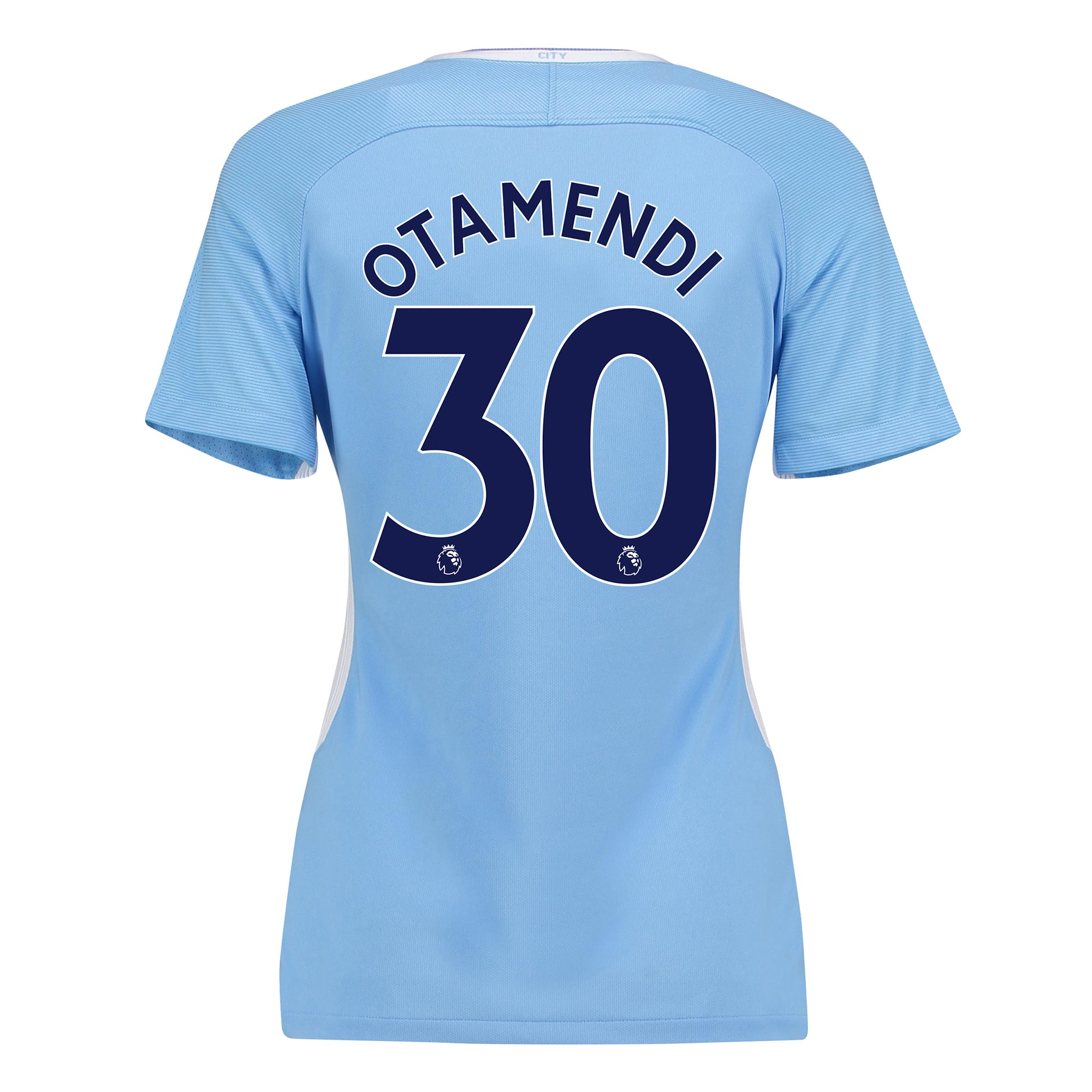 Manchester City Home Stadium Shirt 2017-18 - Womens with Otamendi 30 p