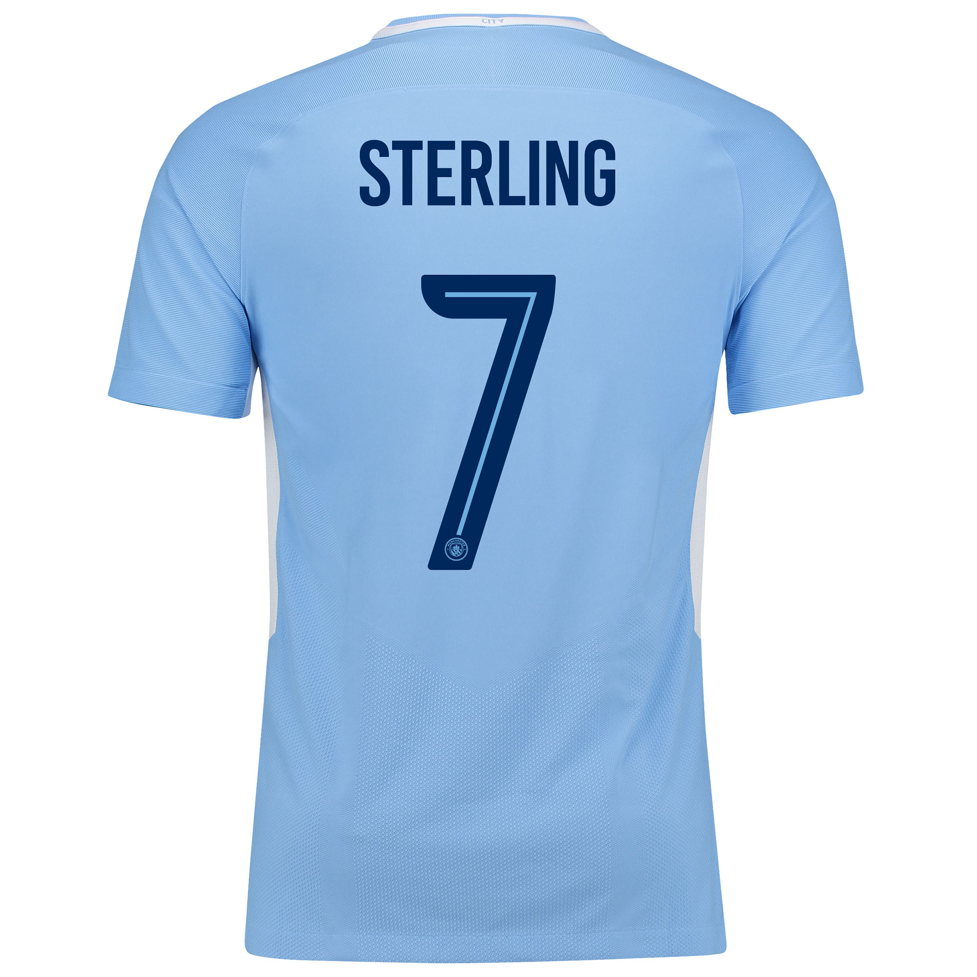 Manchester City Home Vapor Match Cup Shirt 2017-18 with Sterling 7 pri