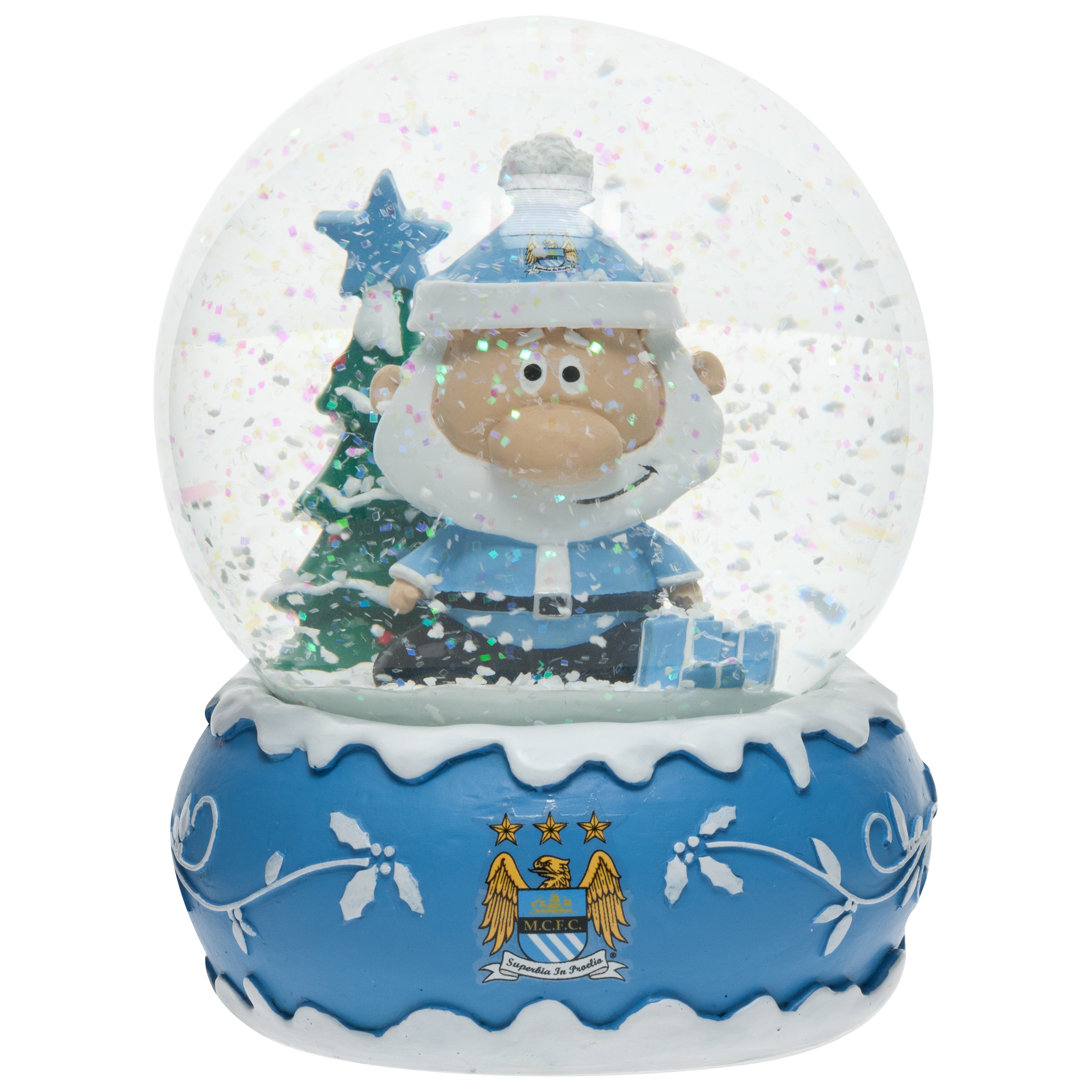 Manchester City Christmas Snow Globe