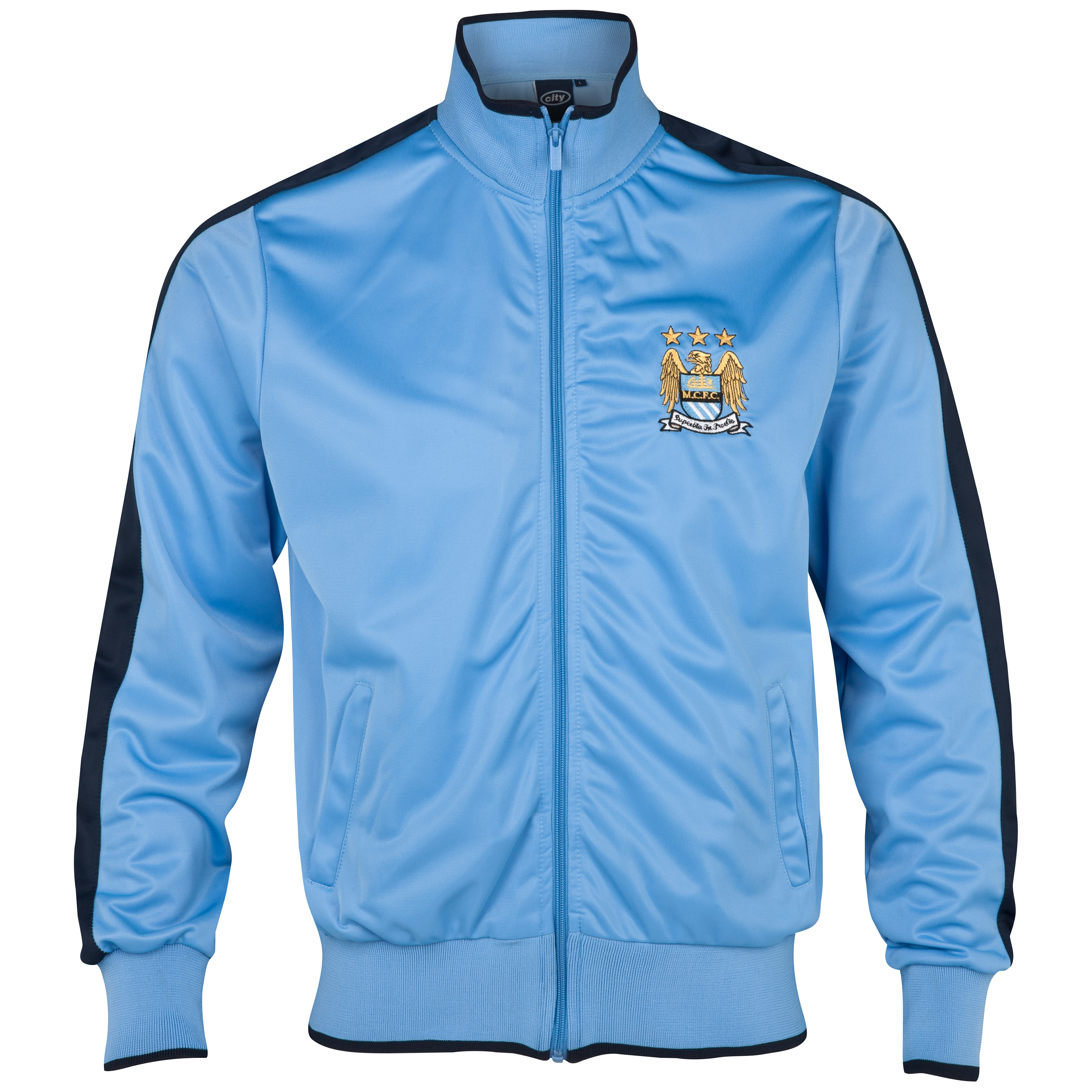 Manchester City Essential Broker Track Top - Sky