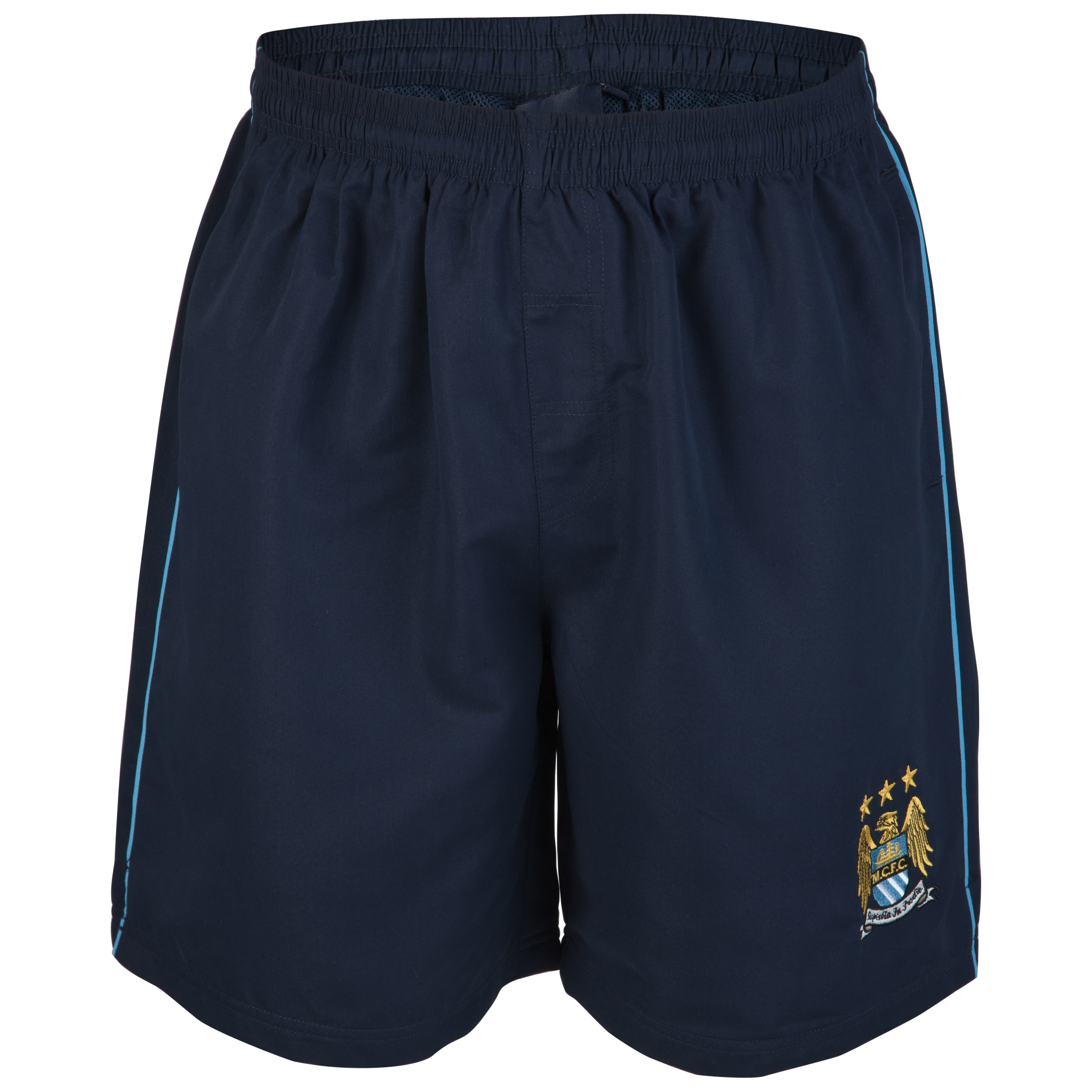 Manchester City Essential Spotlight Woven Shorts - Navy - Older Boys
