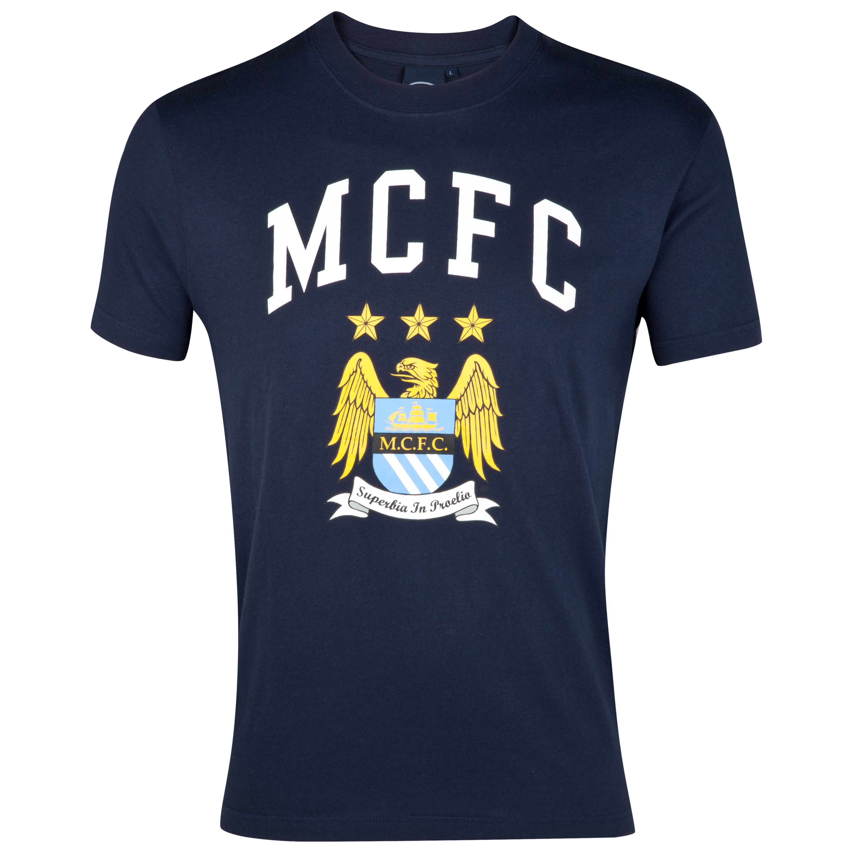 Manchester City Essential Firelit Graphic T-Shirt - Navy - Infant Boys