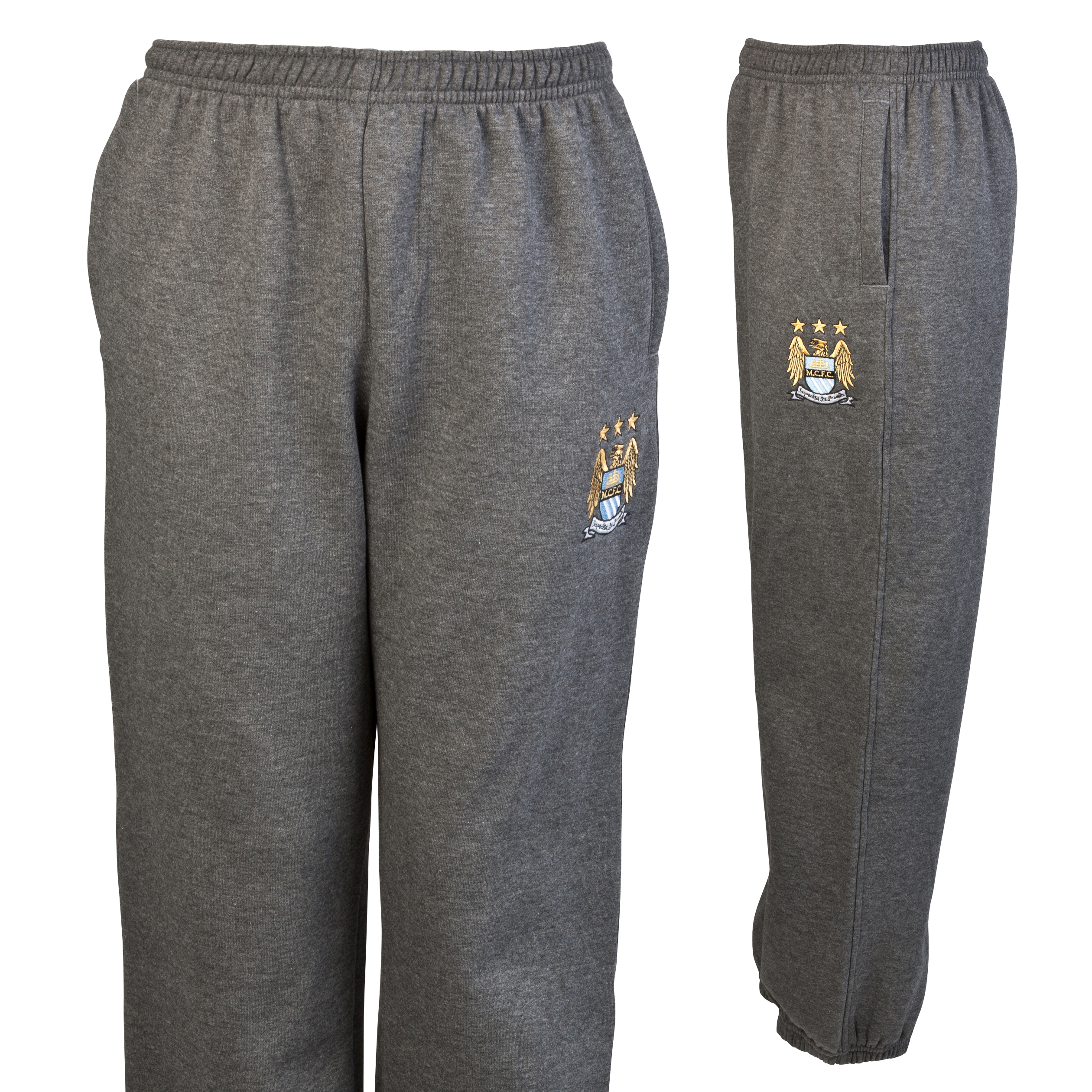 Manchester City Essential Jungle Jog Pants - Charcoal Marl - Infant Boys