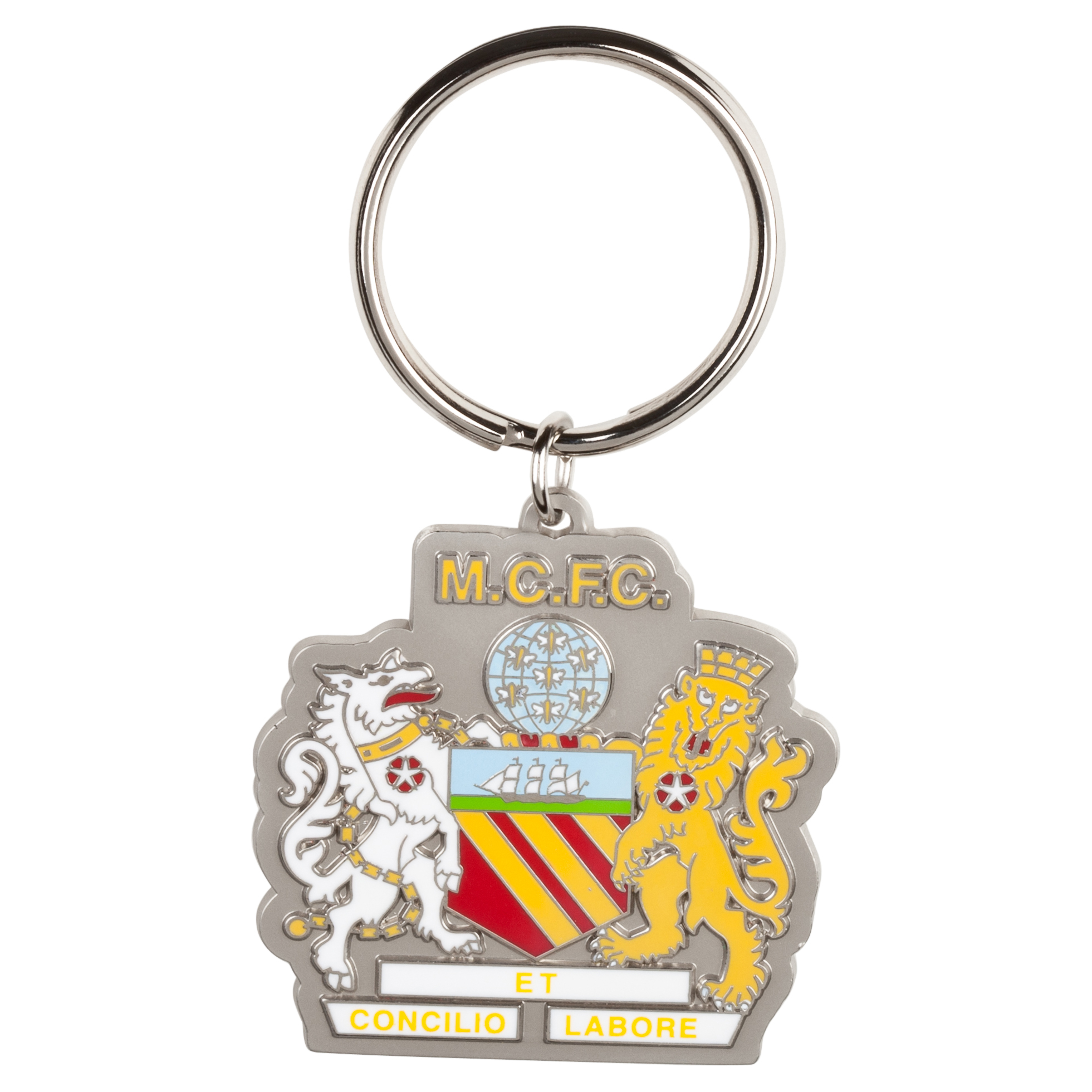 Manchester City Coat of Arms Keyring