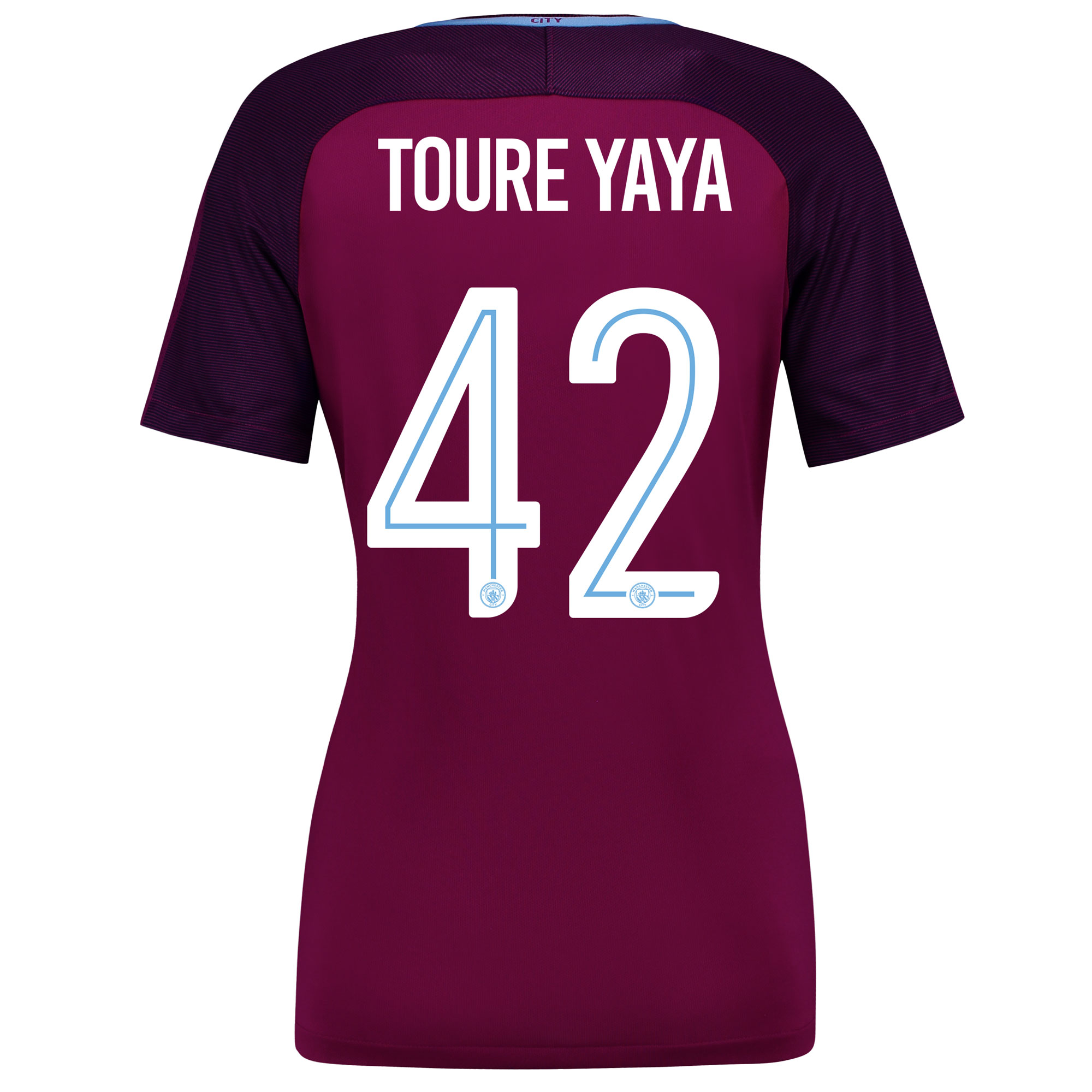 Manchester City Away Stadium Cup Shirt 2017-18 - Womens with Toure Yay