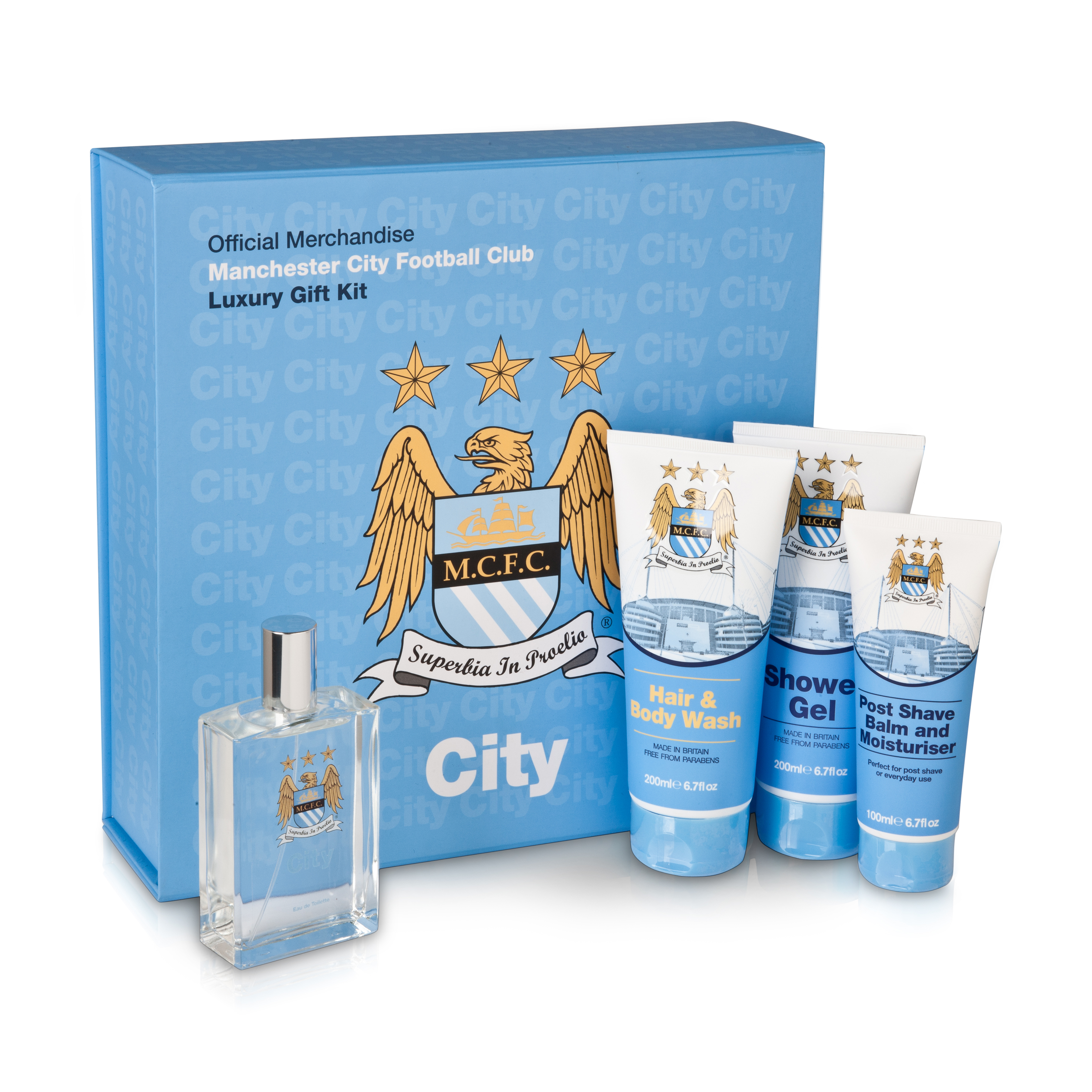 Manchester City Luxury After Shave Gift Set