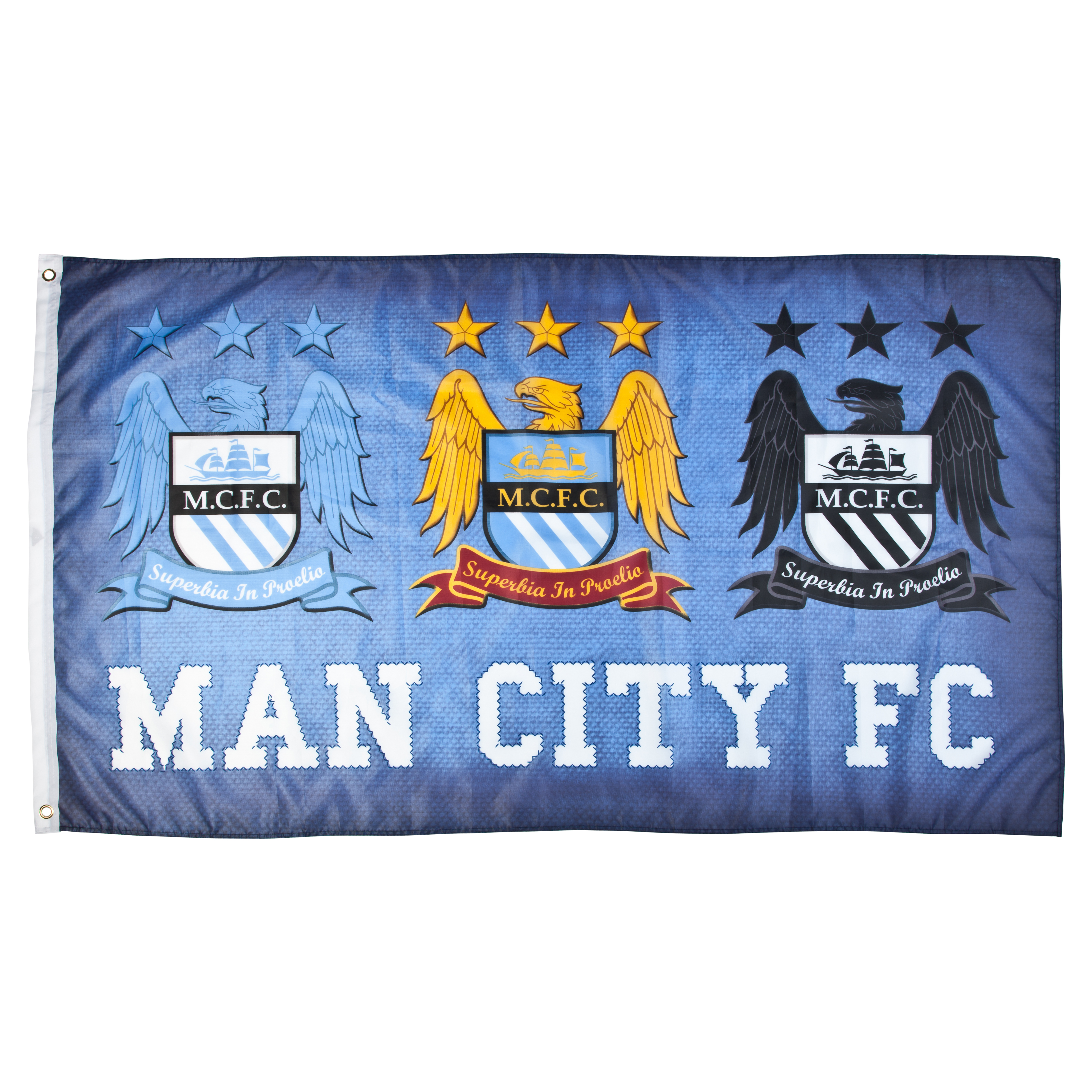 Manchester City College 5x3 Sky Flag