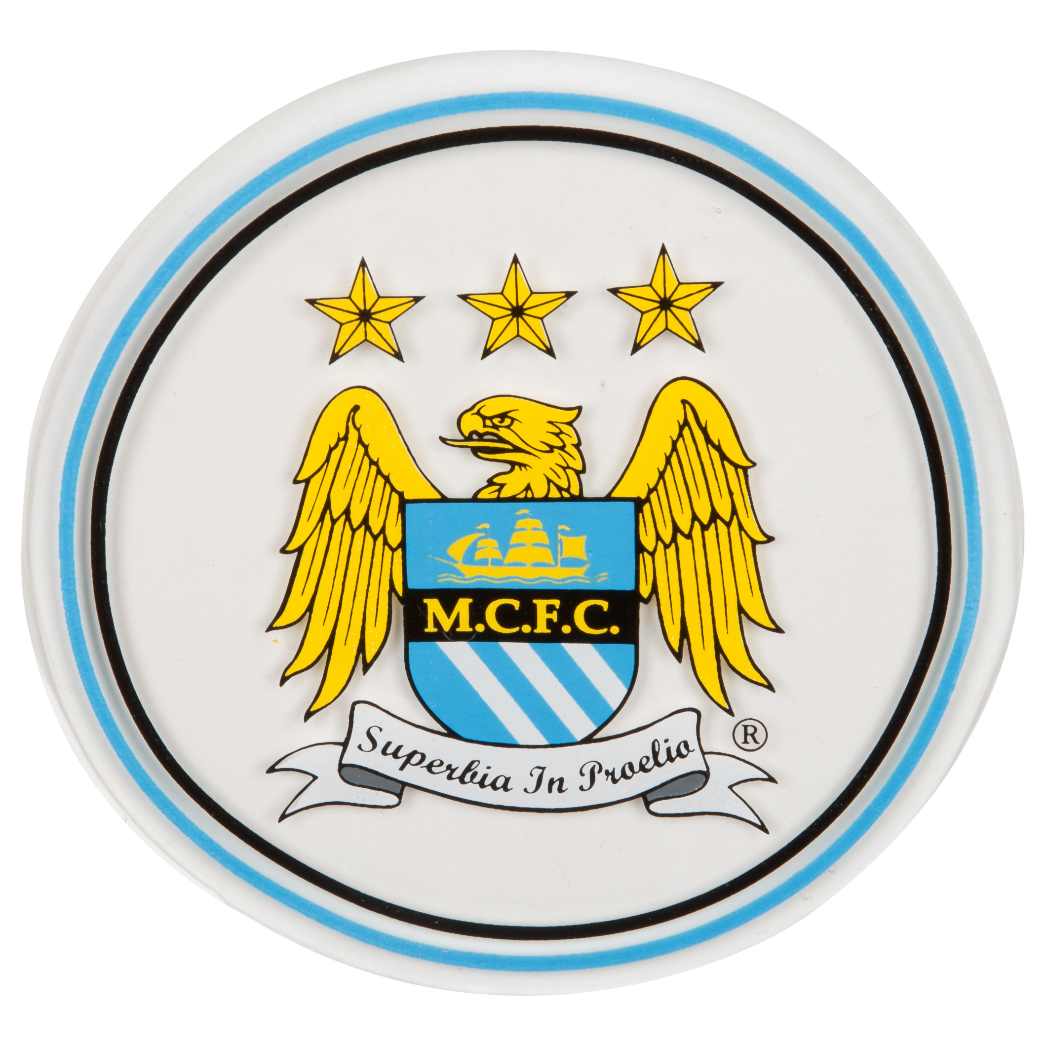 Manchester City Window Gel Cling