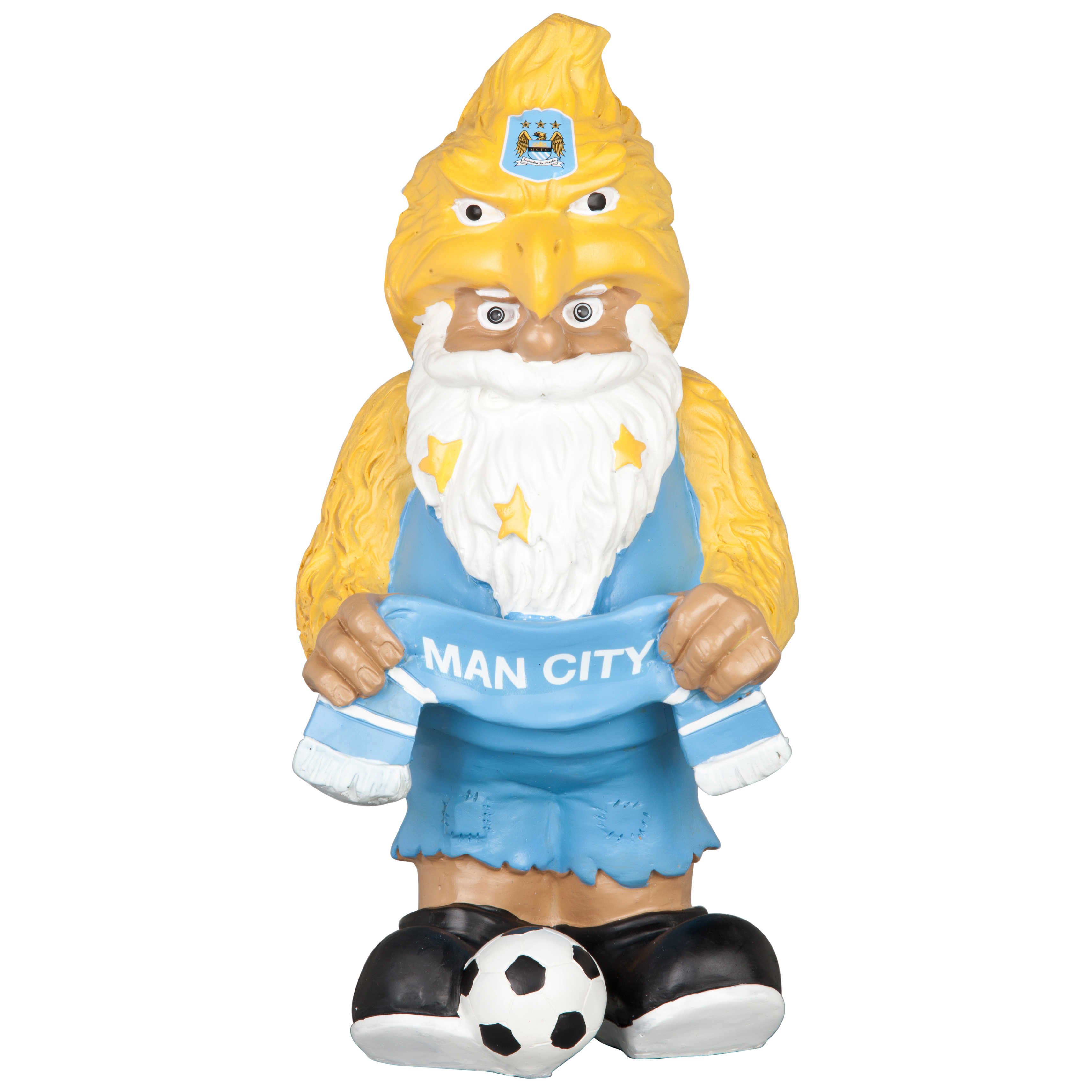 Manchester City Themed Eagle Gnome