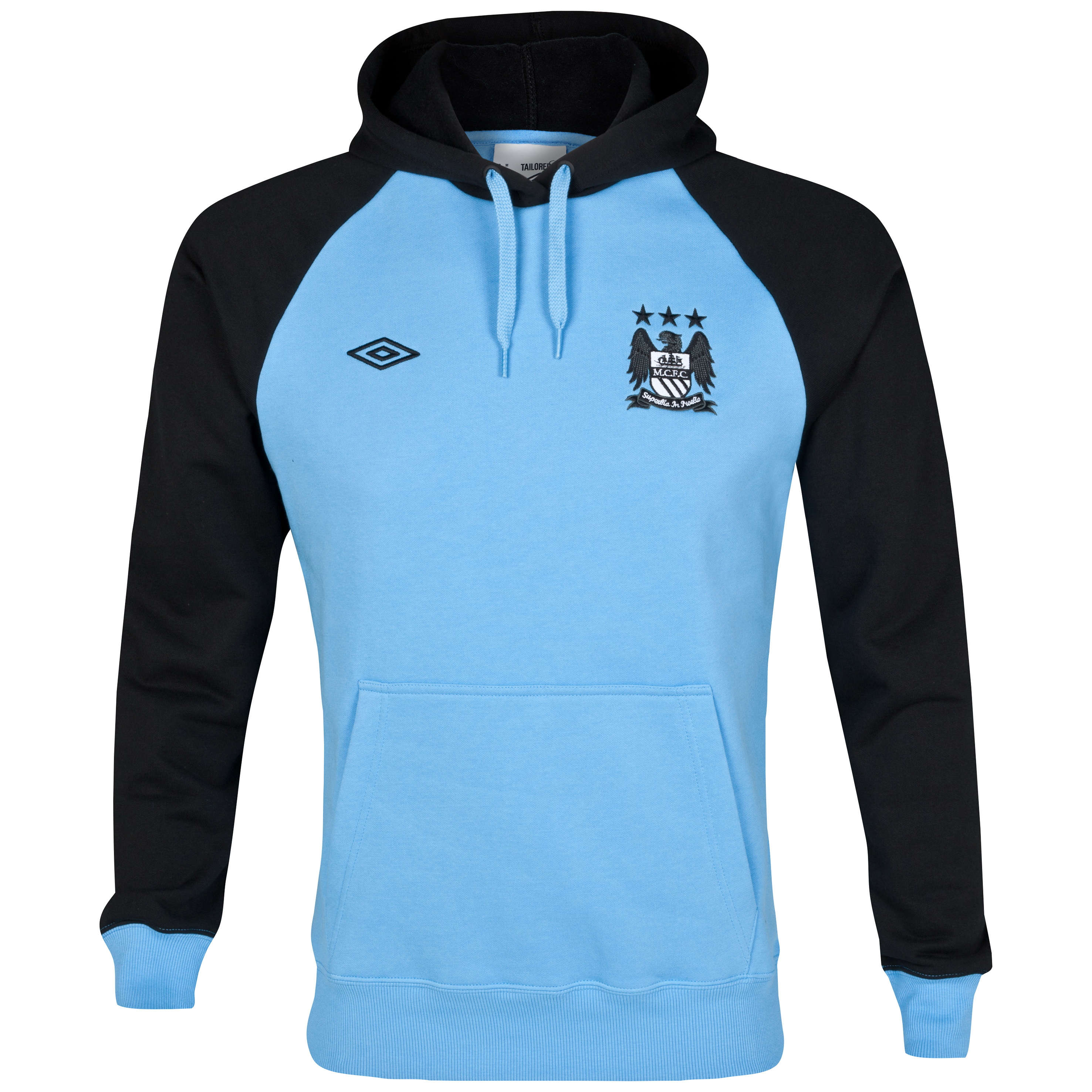 Manchester City WTC Hoody - Vista Blue/Black