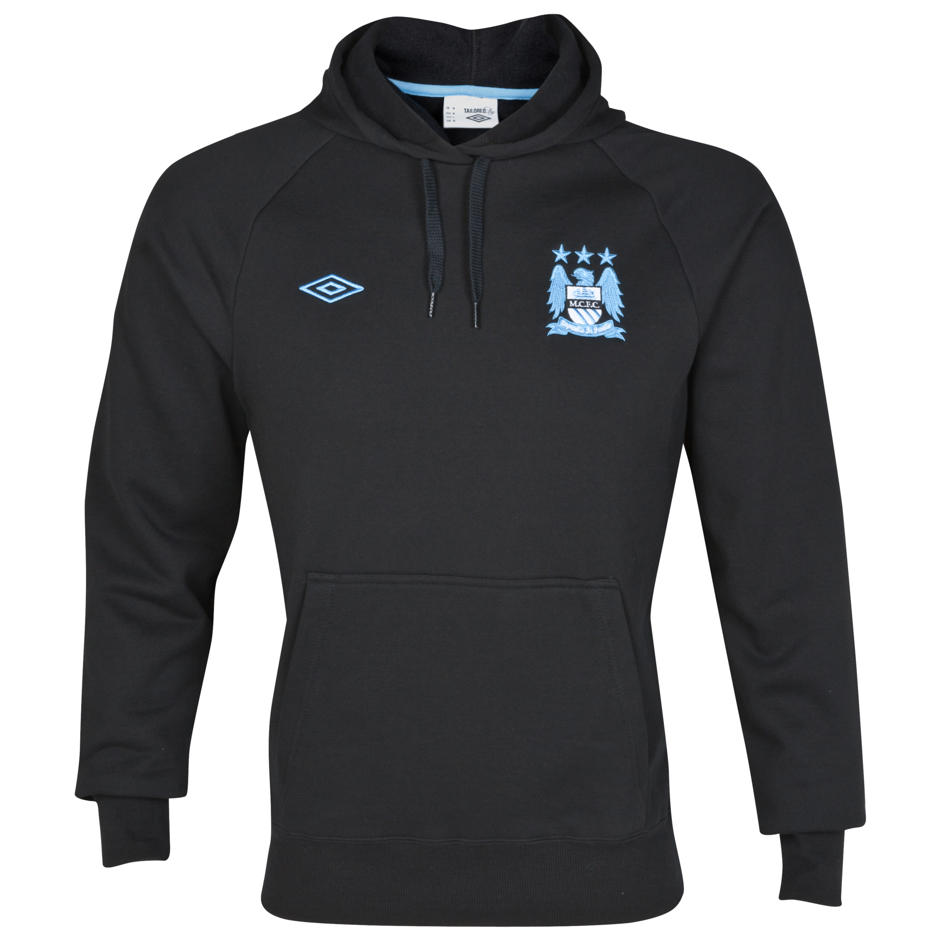 Manchester City WTC Hoody - Black
