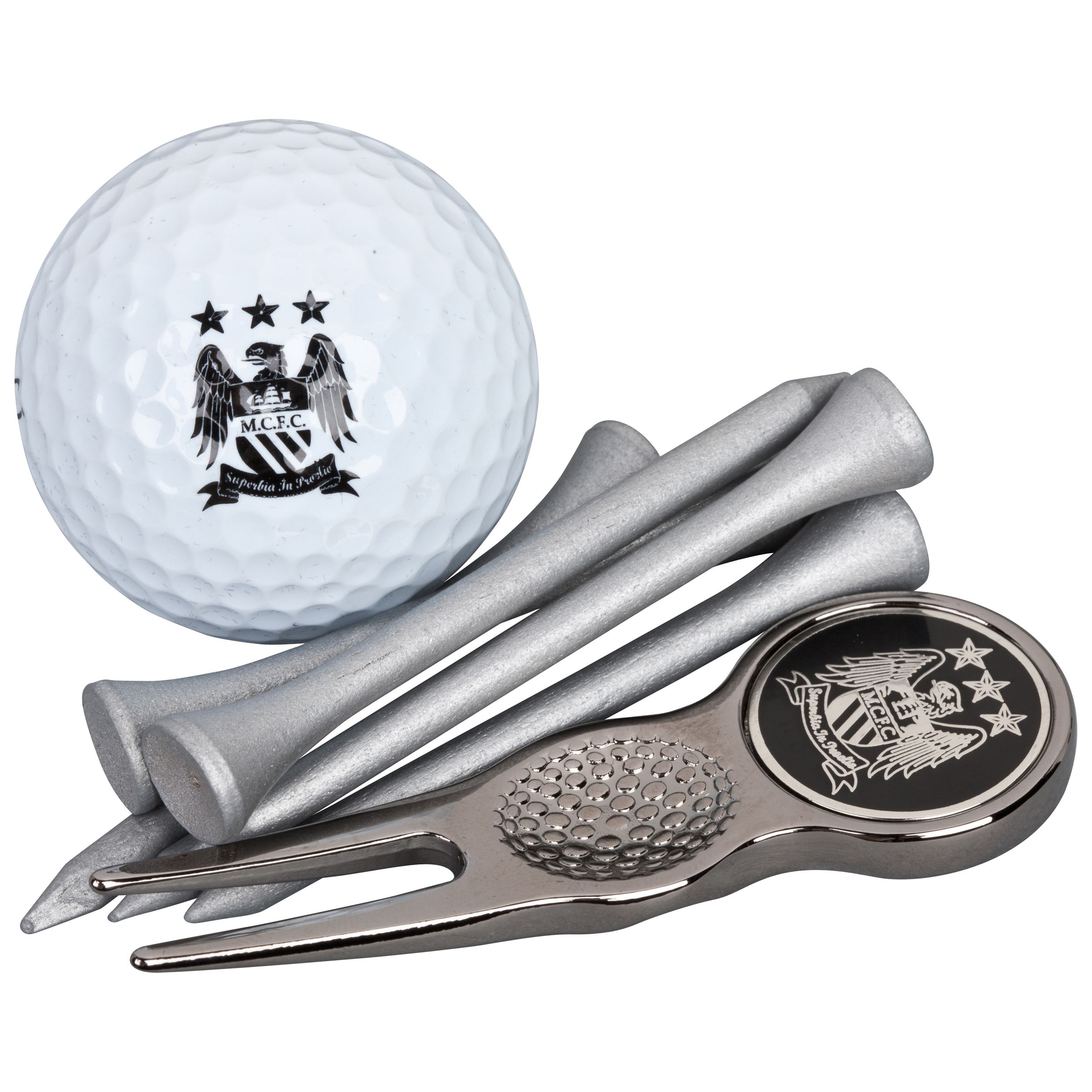 Manchester City Executive Golf Gift Tube