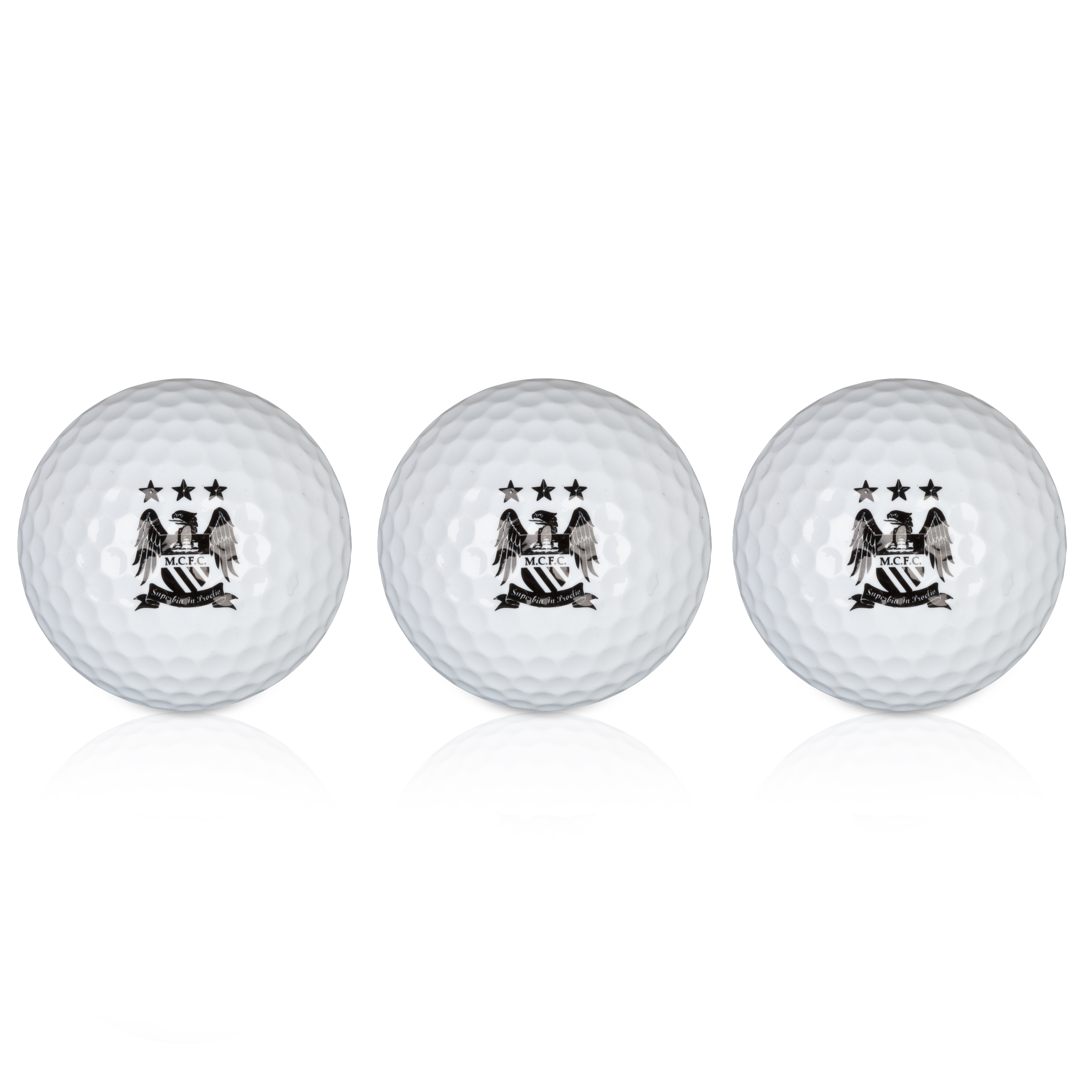 Manchester City Executive Golf Balls 3 Pack