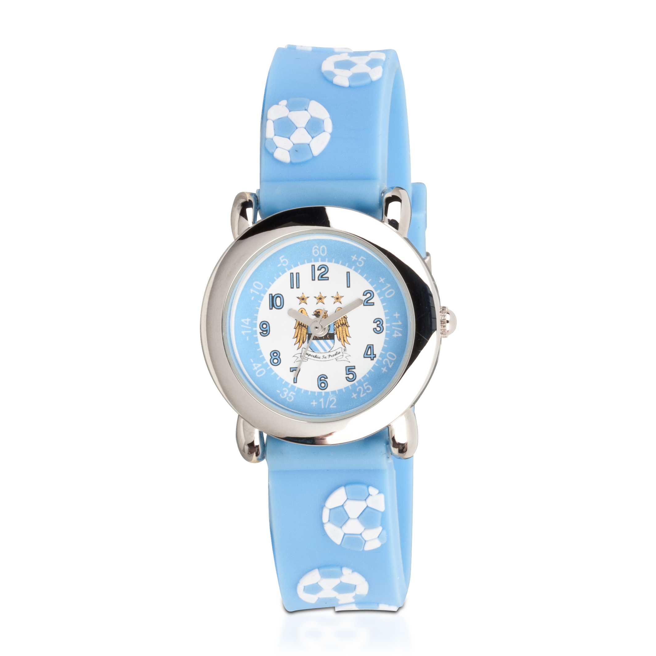 Manchester City Kids Plastic Watch