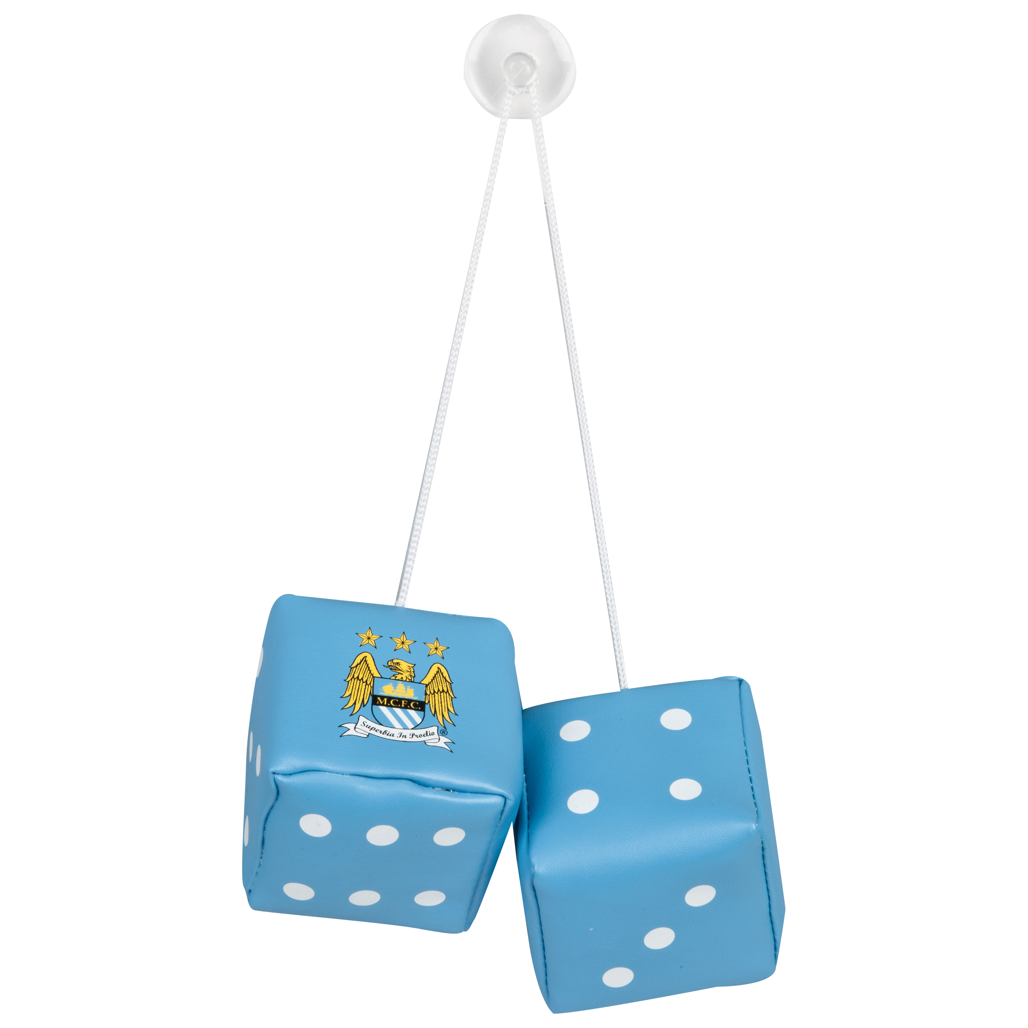 Manchester City Hanging Car Dice