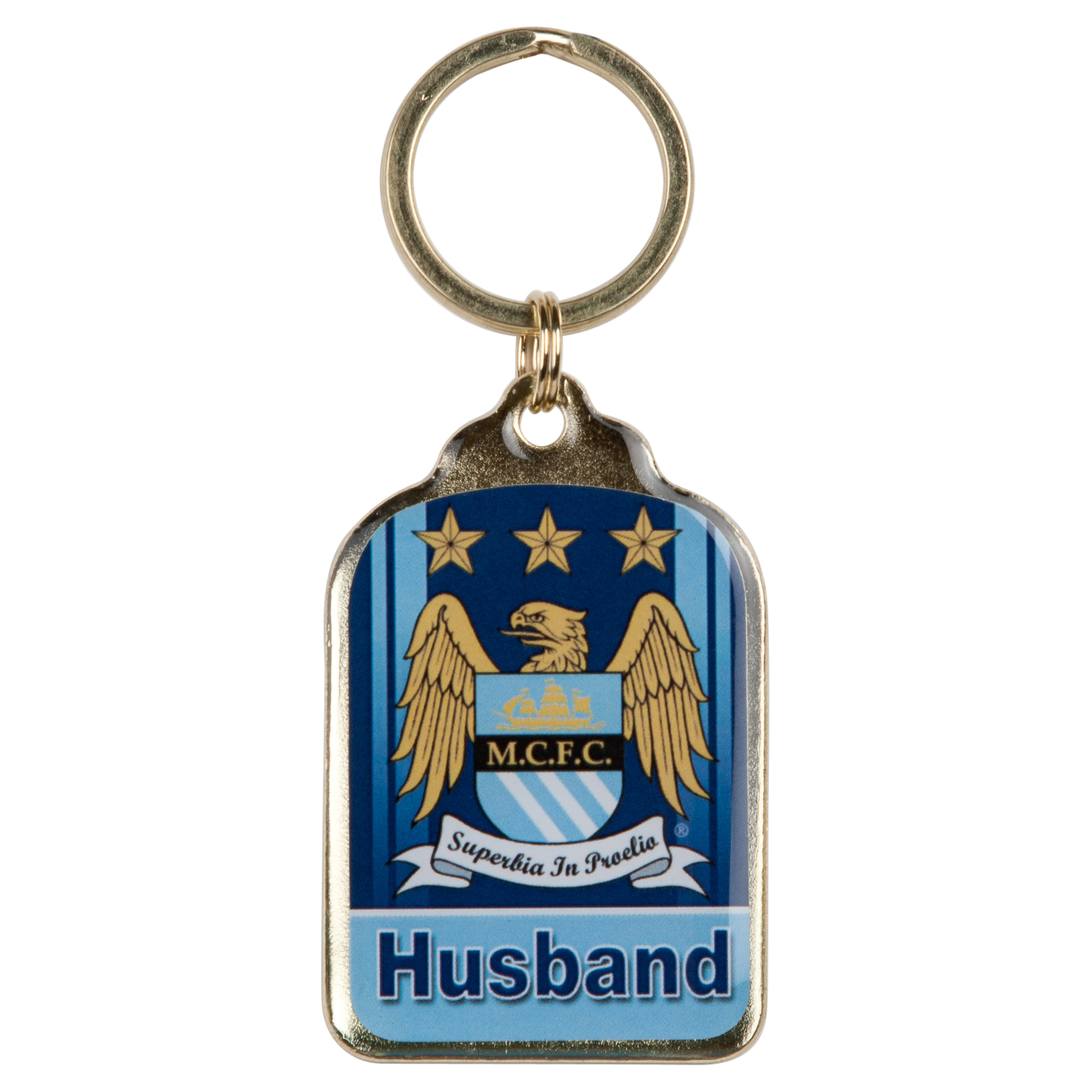 Manchester City Personalised Keyrings