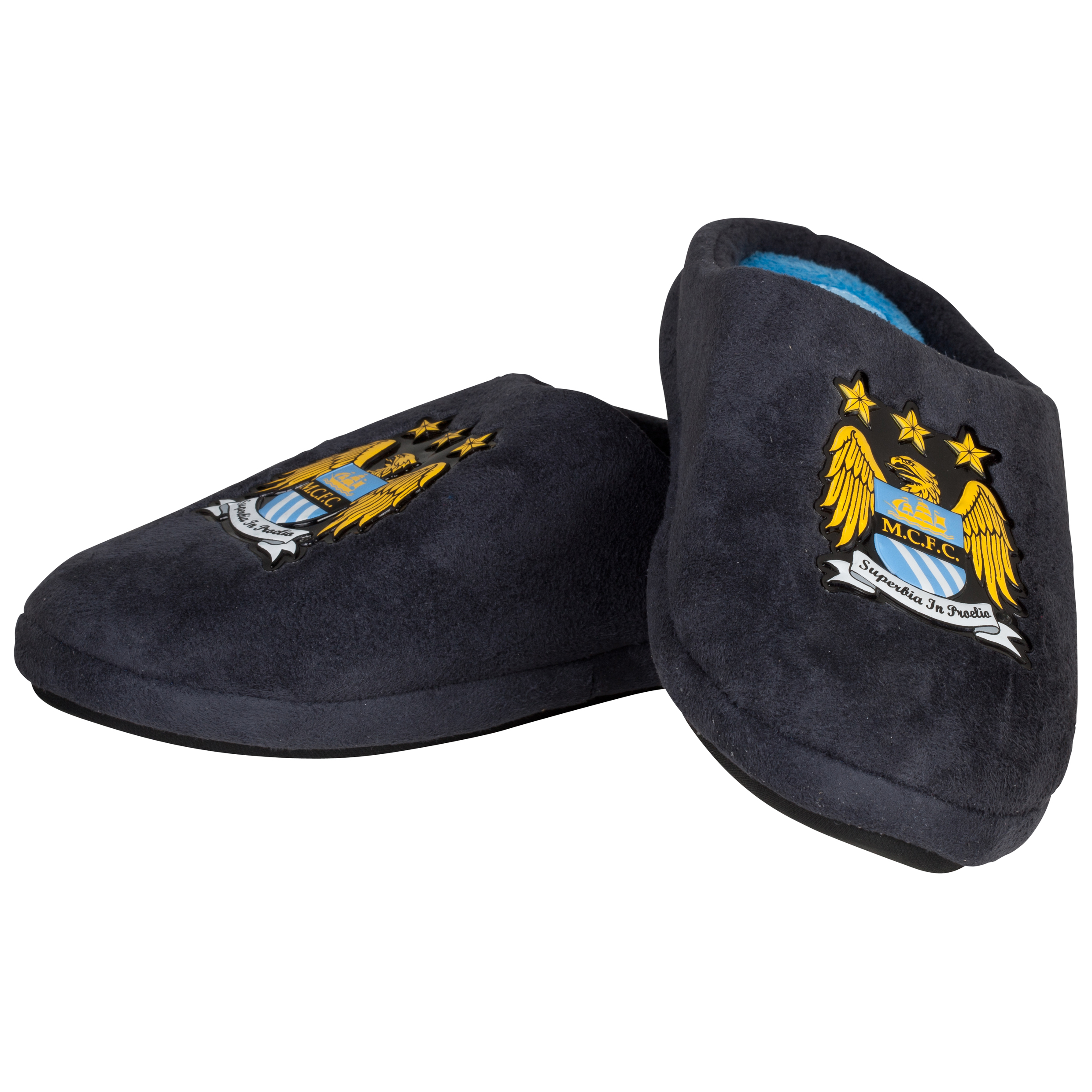 Manchester City Marco Mule Slipper - Charcoal - Older Boys