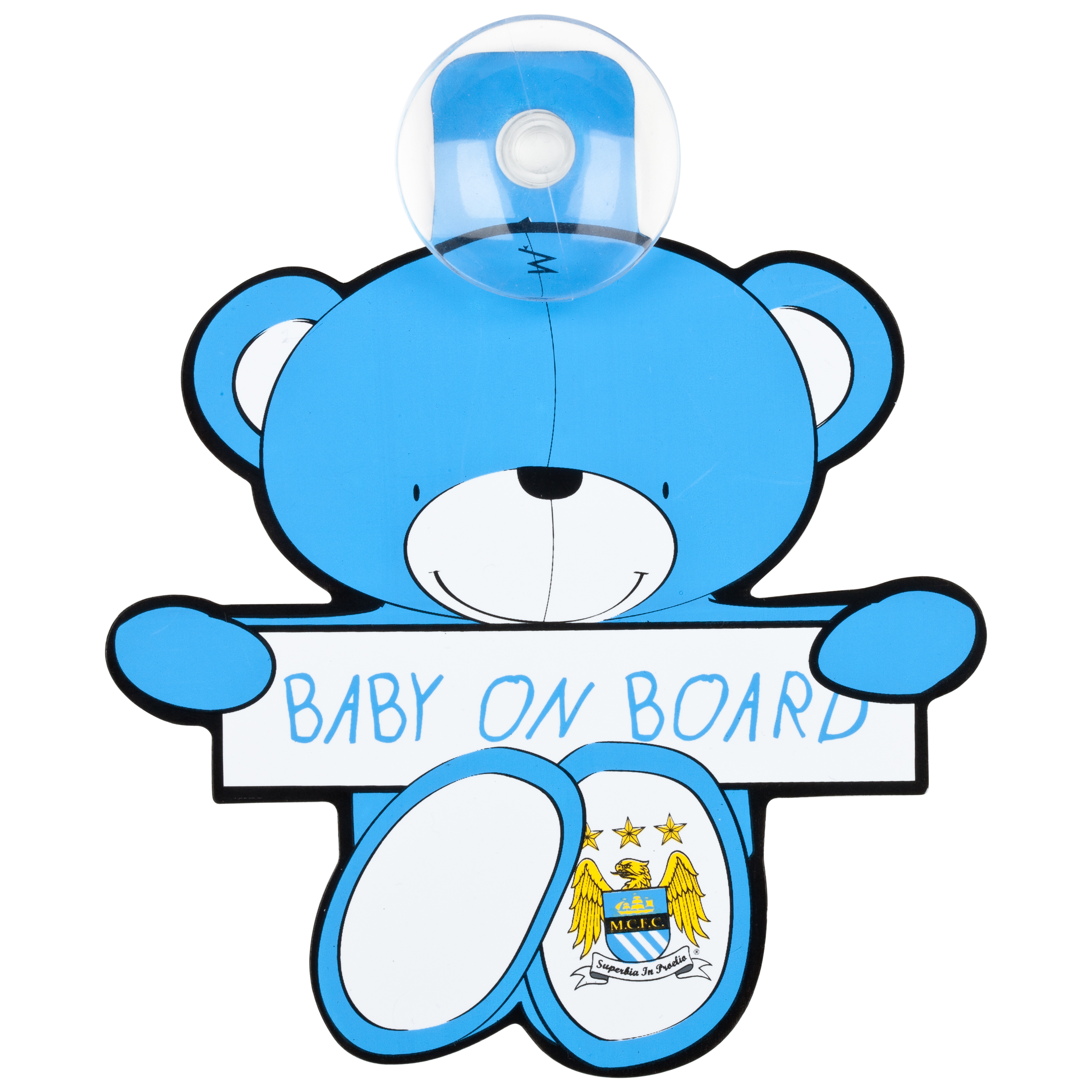 Manchester City Teddy Baby on Board Hanger