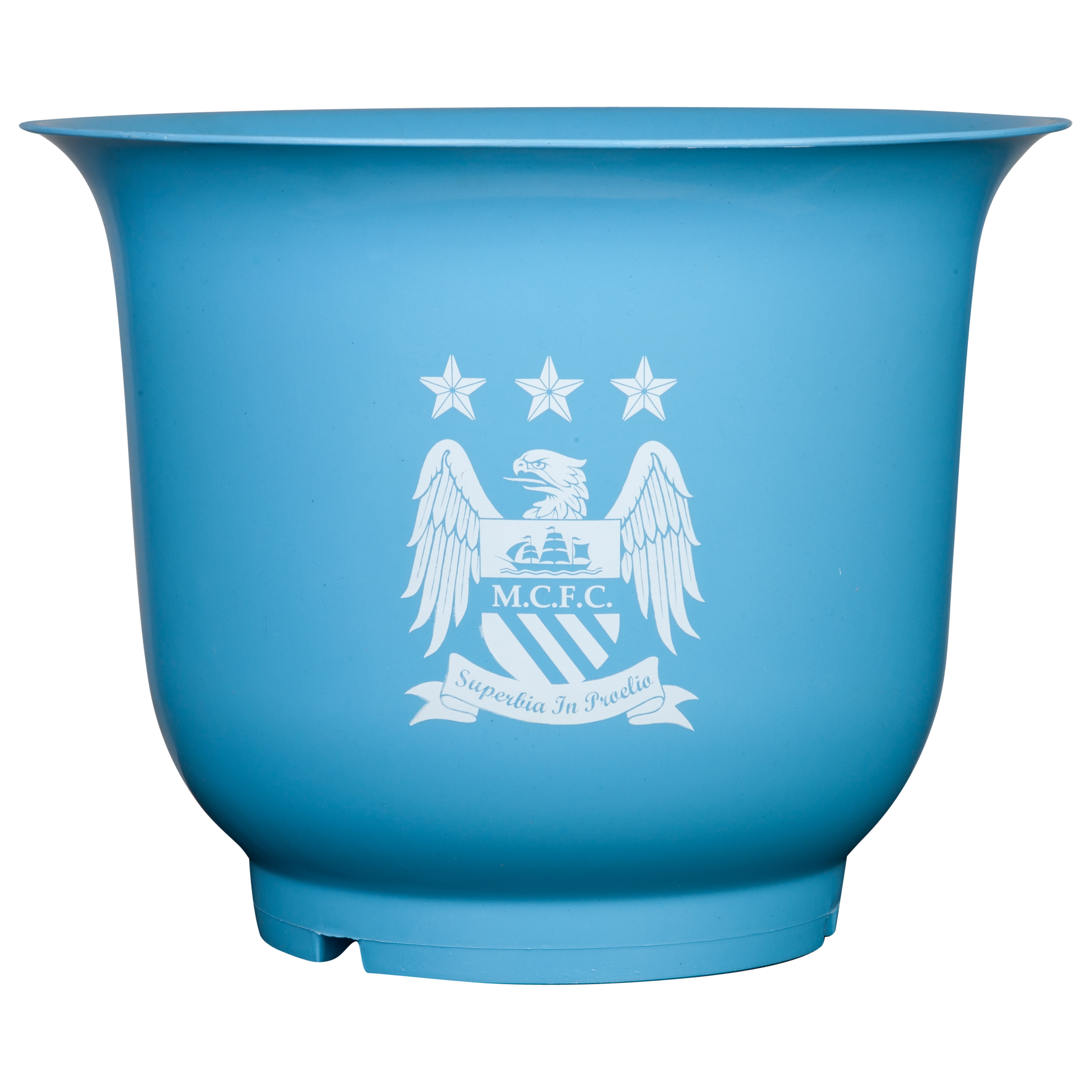 Manchester City 12inch Large Plastic Pot