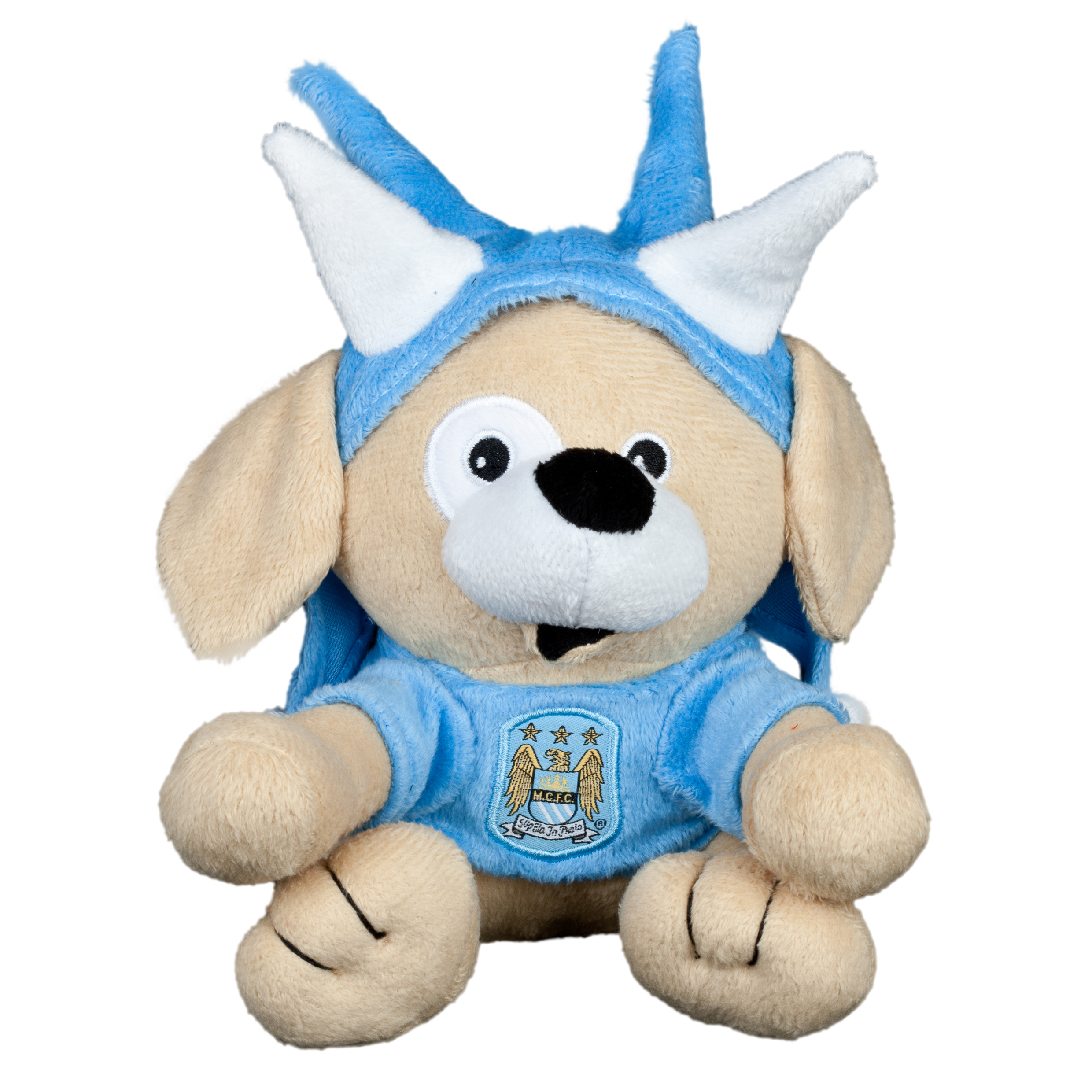 Manchester City 8inch Dog with Spike Hat