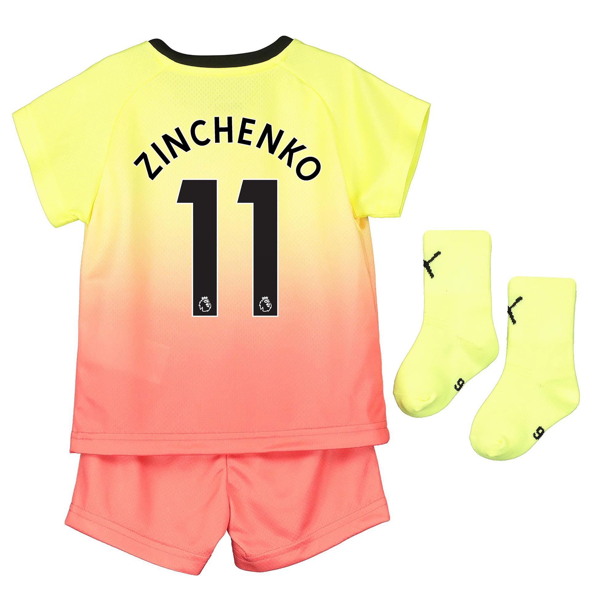 Manchester City Third Baby Kit 2019-20 with Zinchenko 11 printing