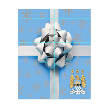 Manchester City Christmas Card
