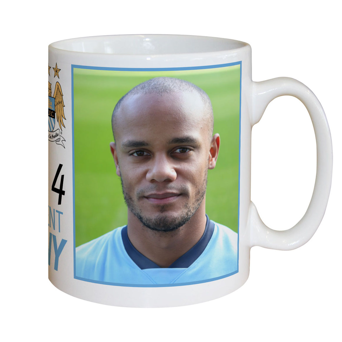 Manchester City Personalised Kompany Mug