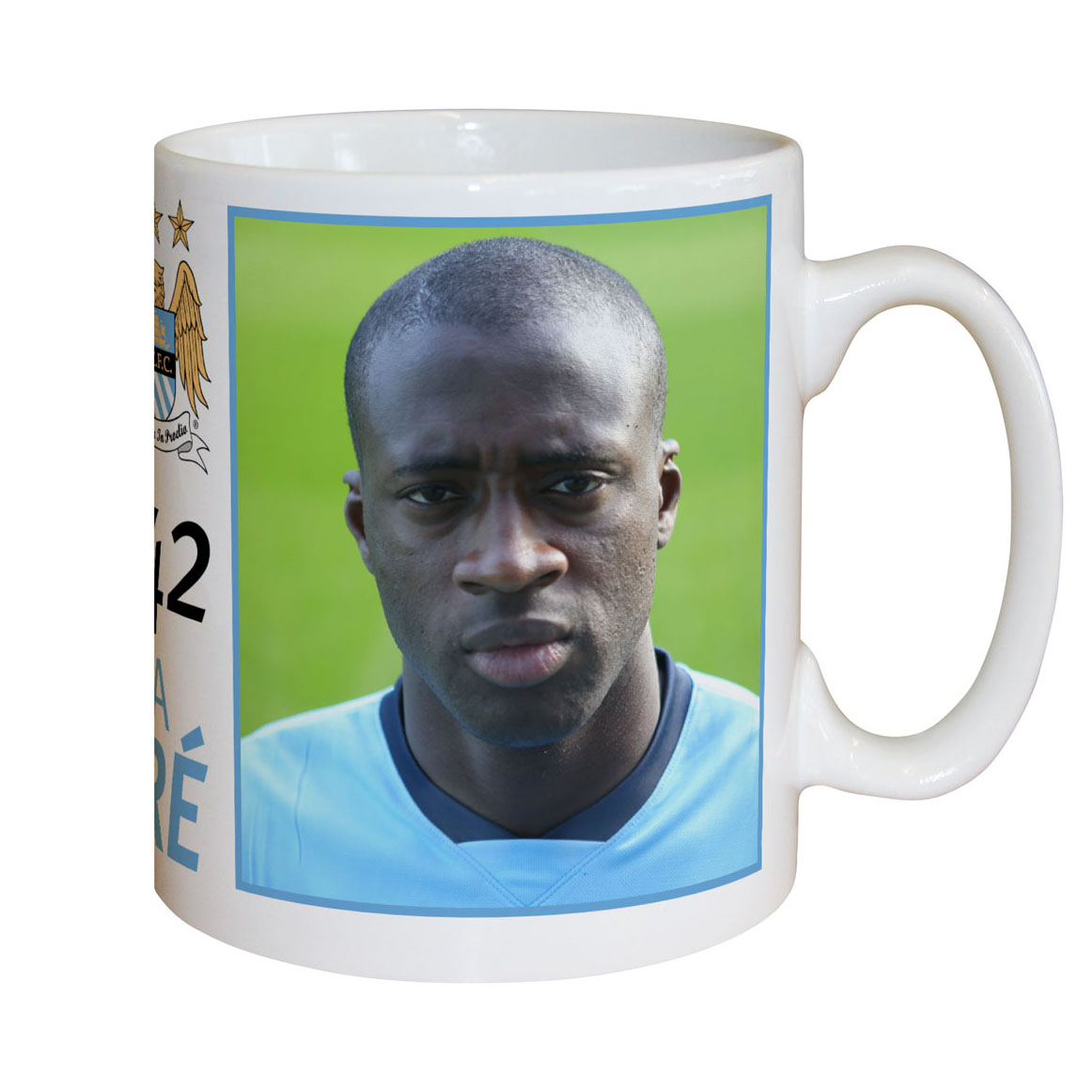 Manchester City Personalised Yaya Toure Mug