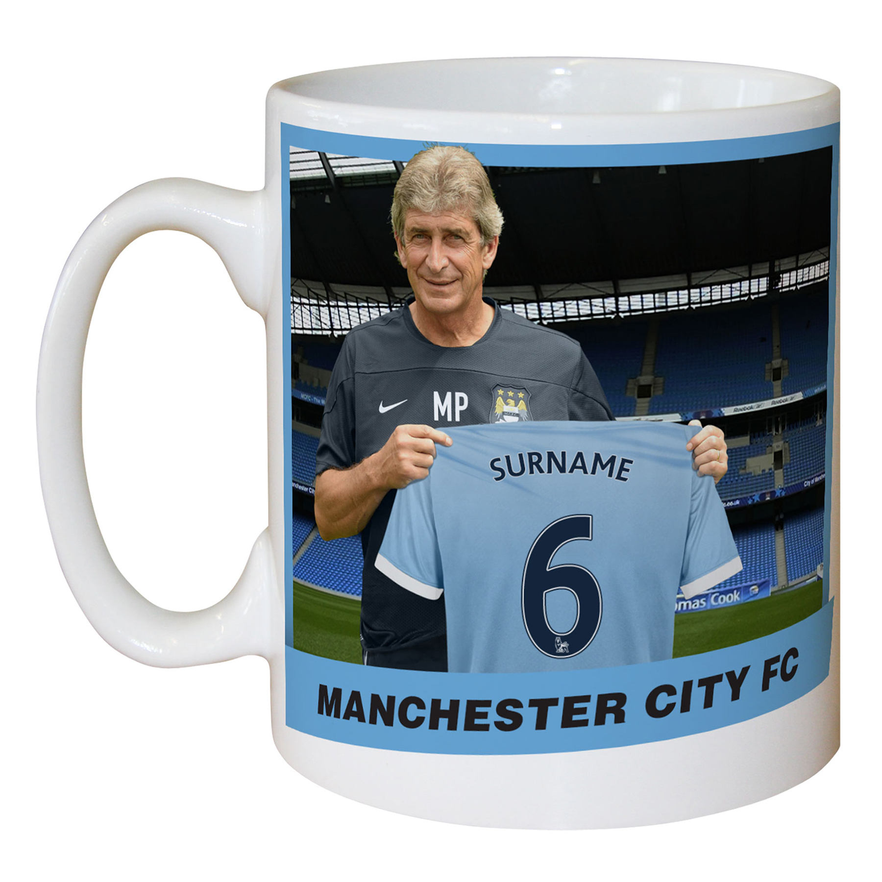 Manchester City Personalised Manager Mug
