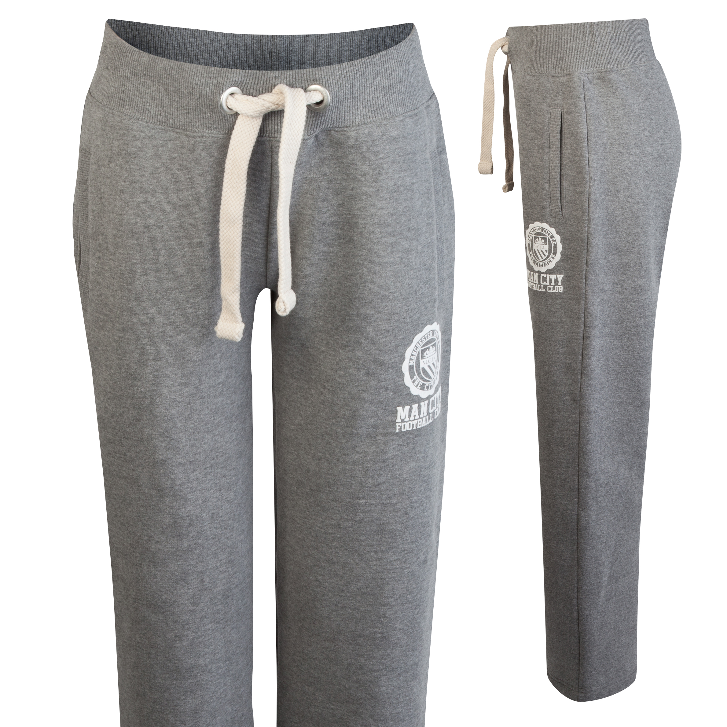 Manchester City Bella Jog Pant - Grey Marl - Womens