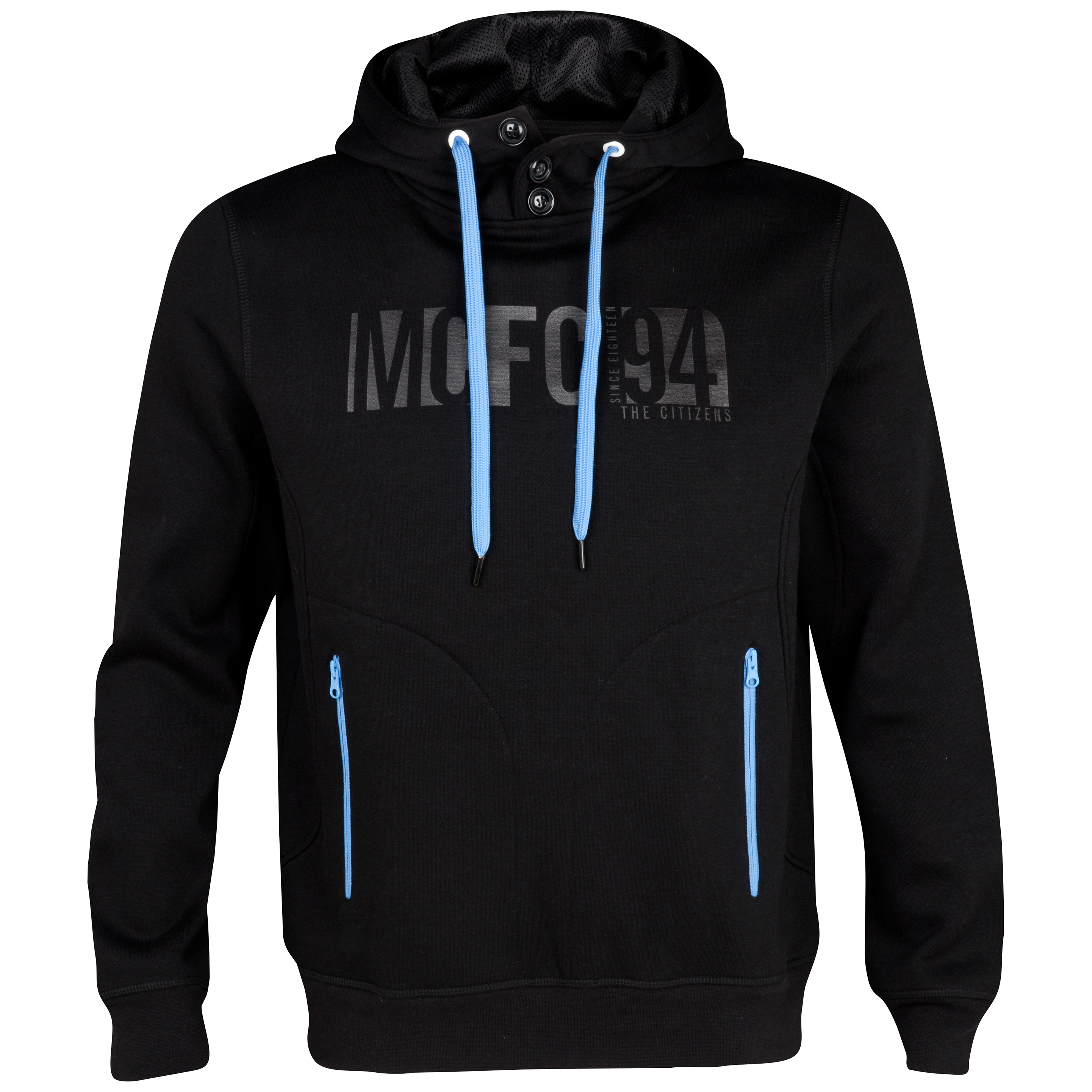 Manchester City Performance Cyber Hoodie - Black