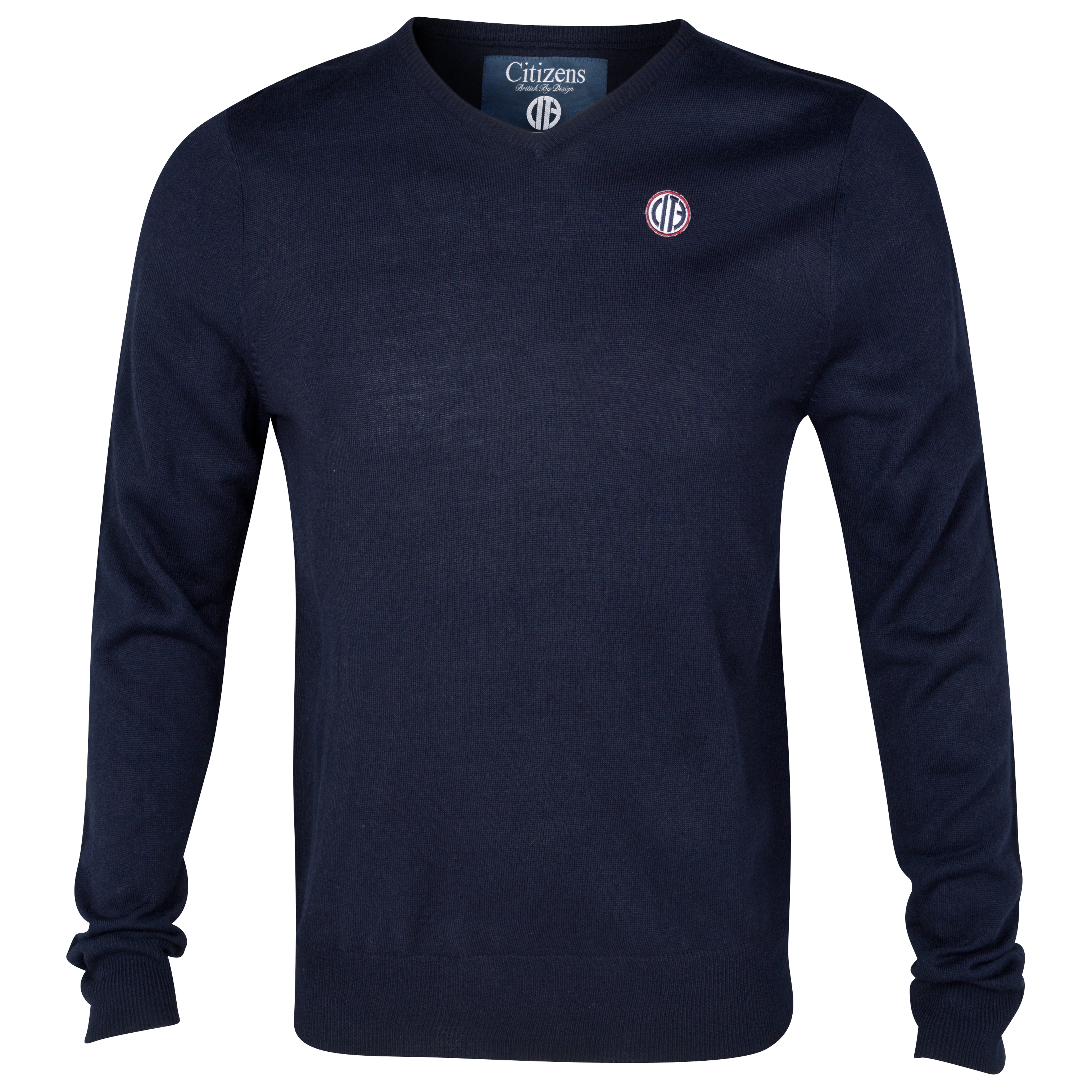 Manchester City  Brit Jumper - Navy