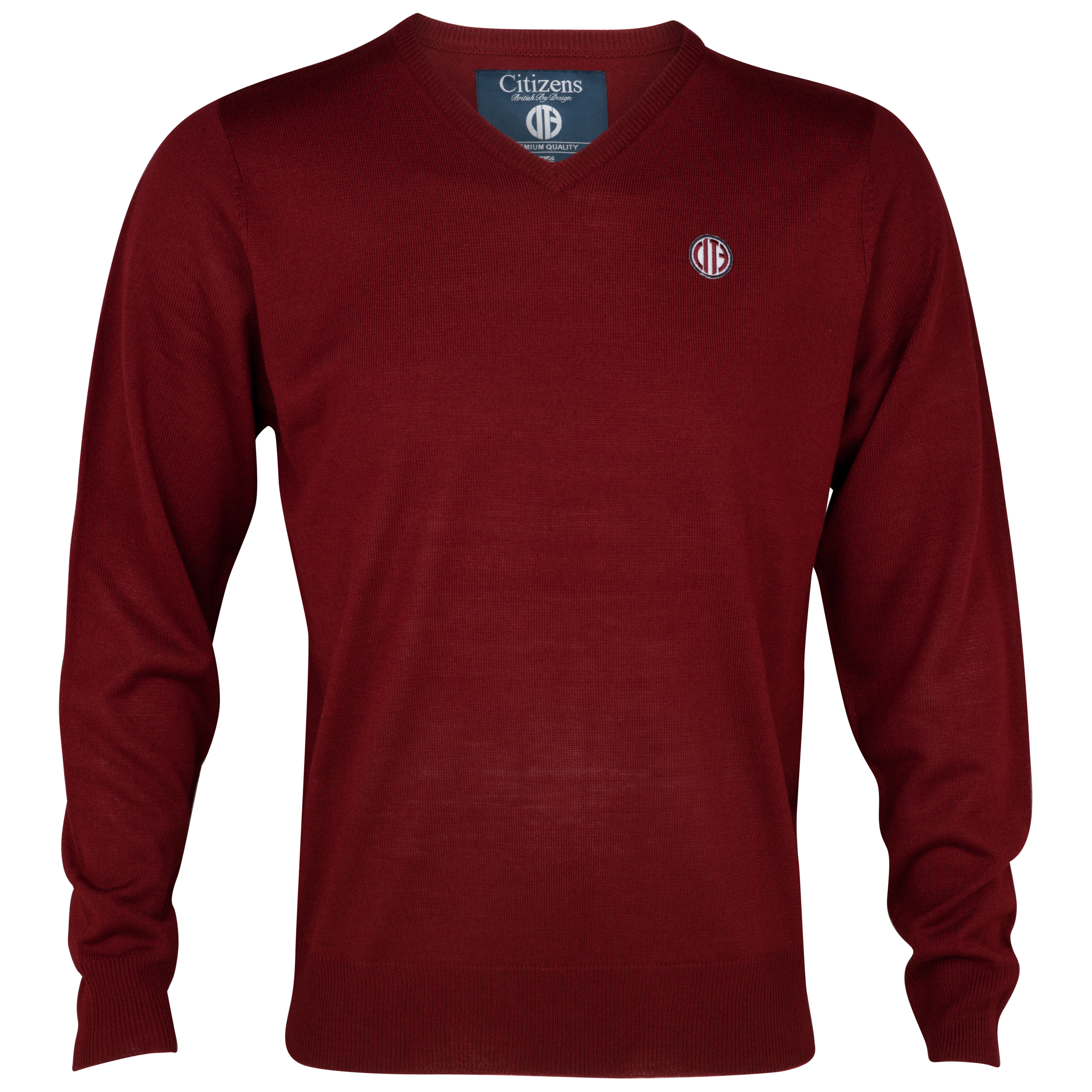 Manchester City  Brit Jumper - Maroon