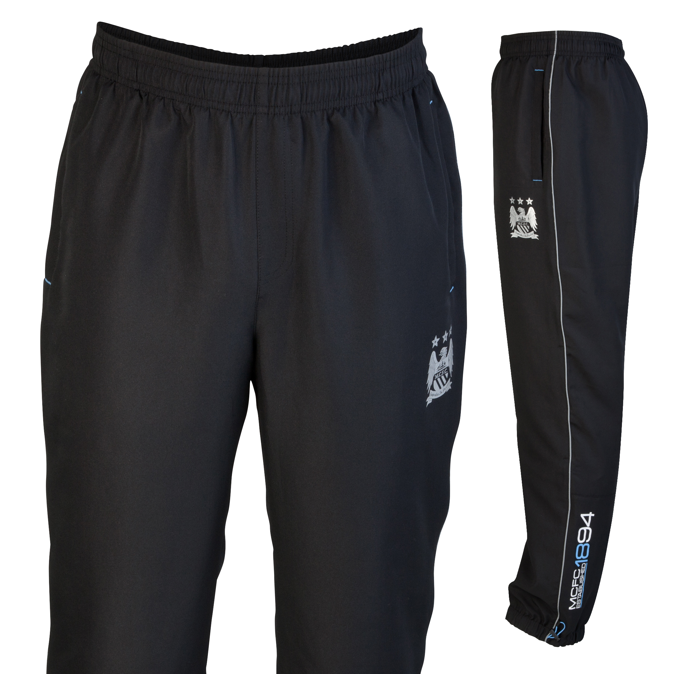 Manchester City Performance  Riptide Pant - Black - Older Boys