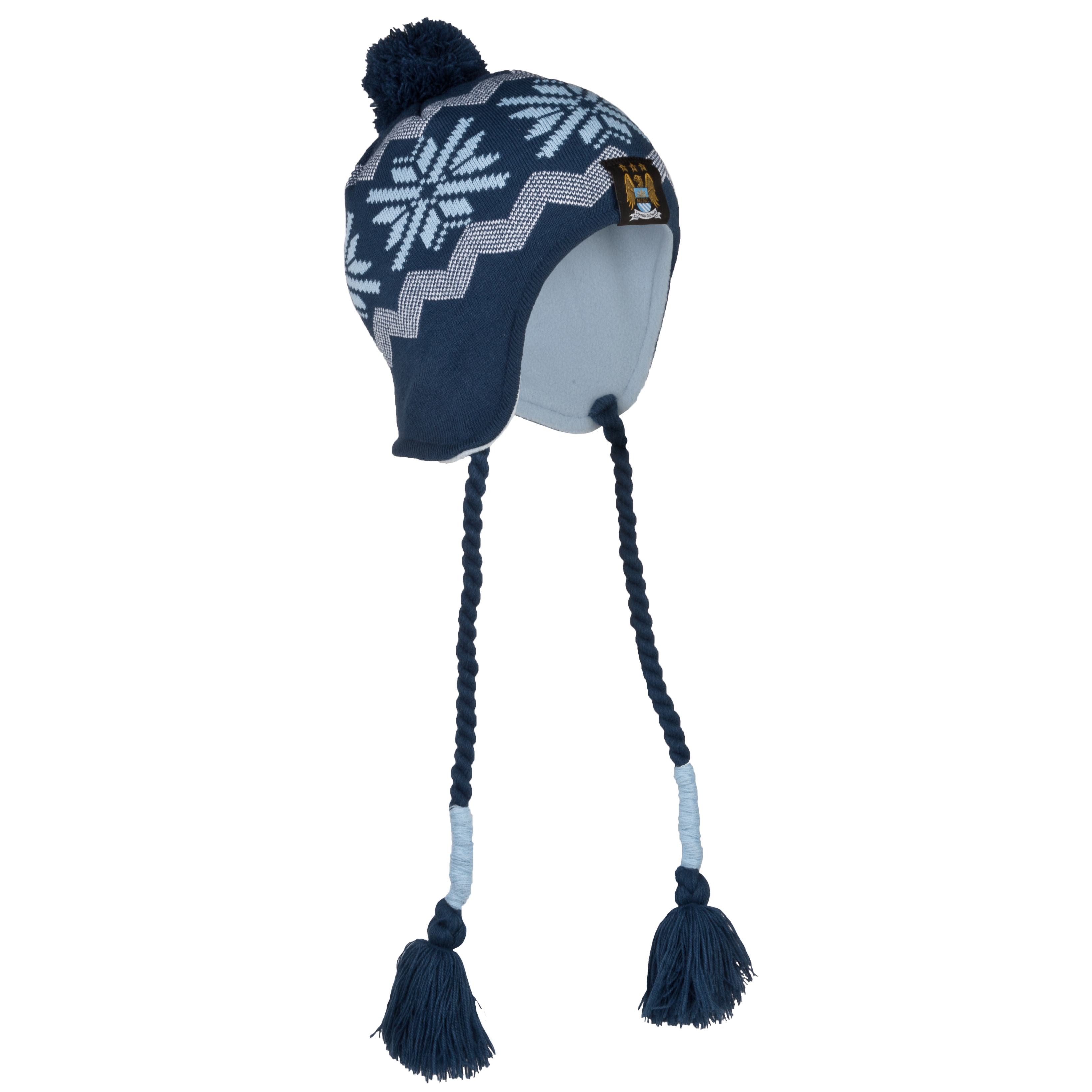 Manchester City Harper Hat - Navy/Sky - Junior