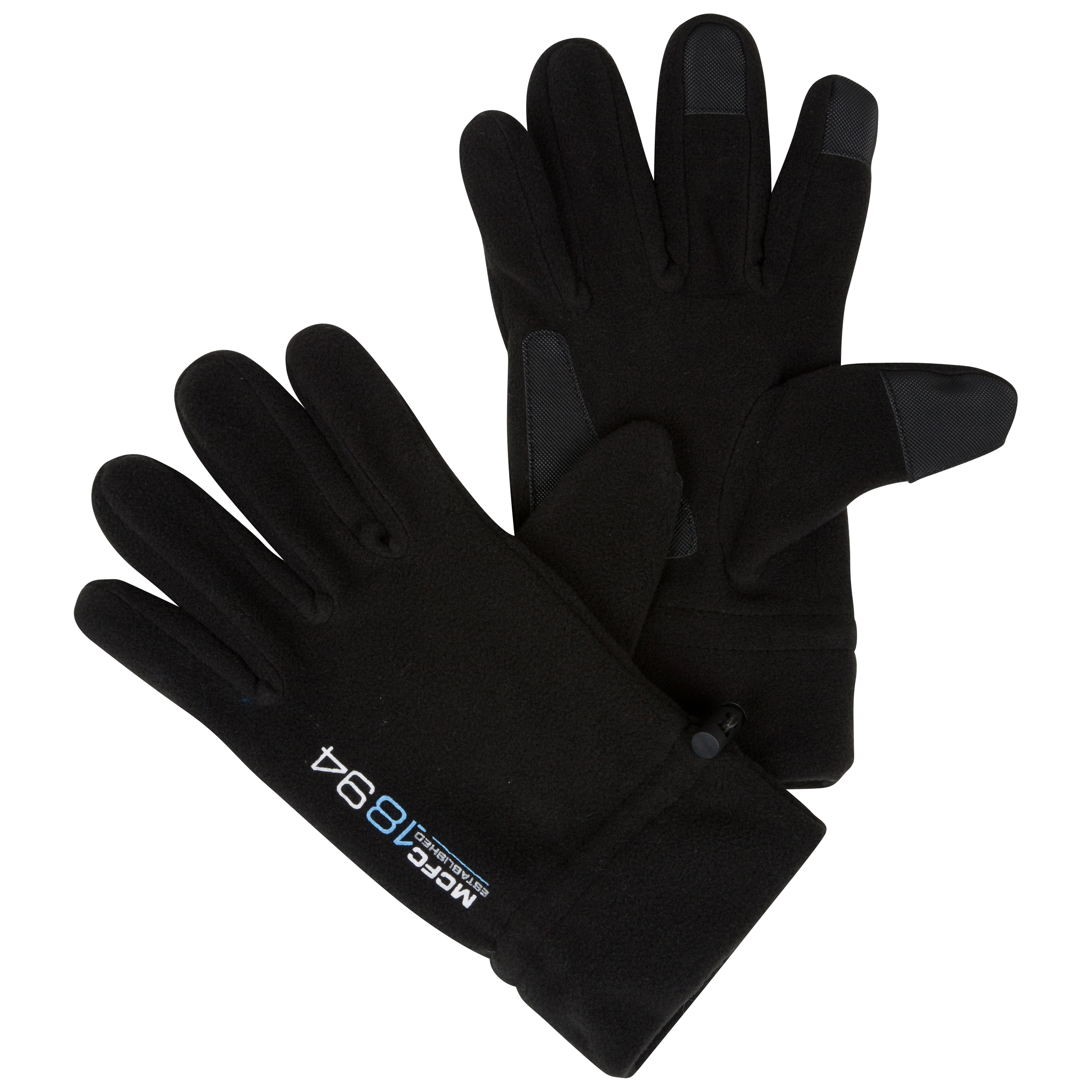 Manchester City Performance Insulator Gloves - Black - Junior