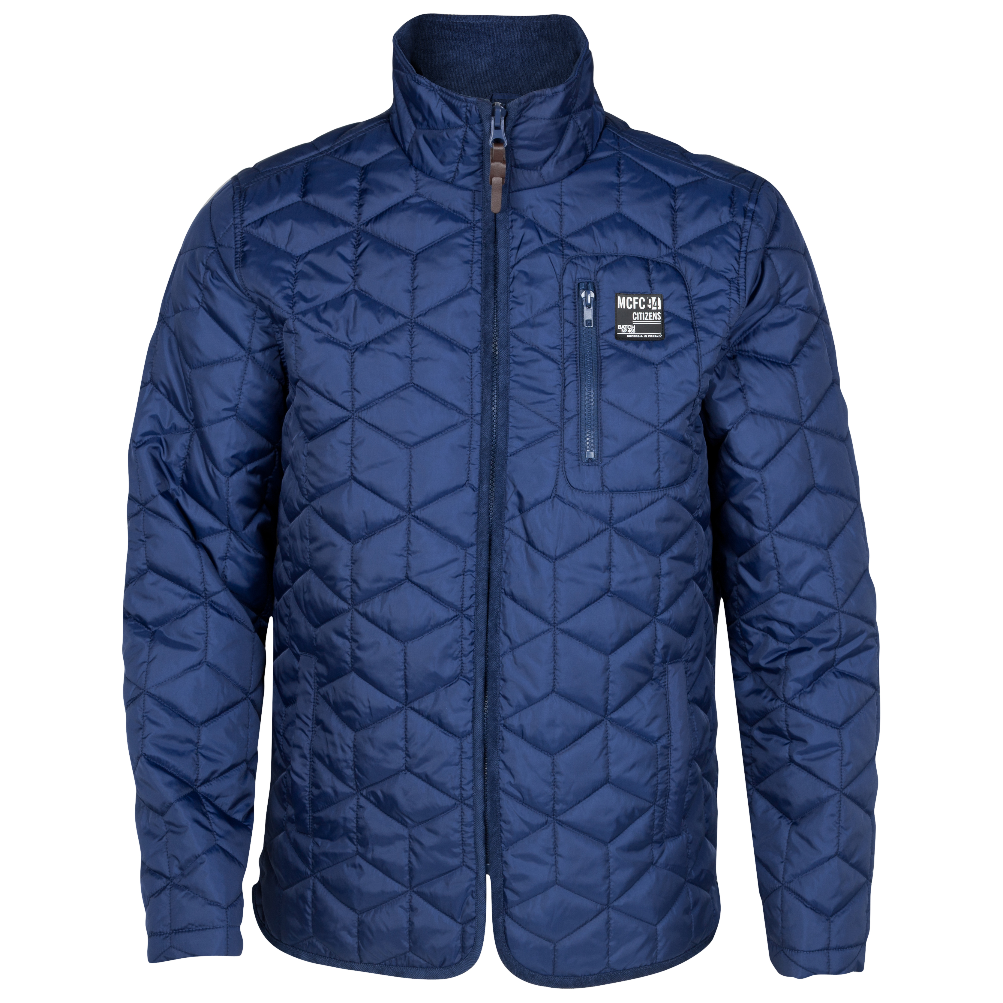Manchester City Tesselate Jacket - Navy