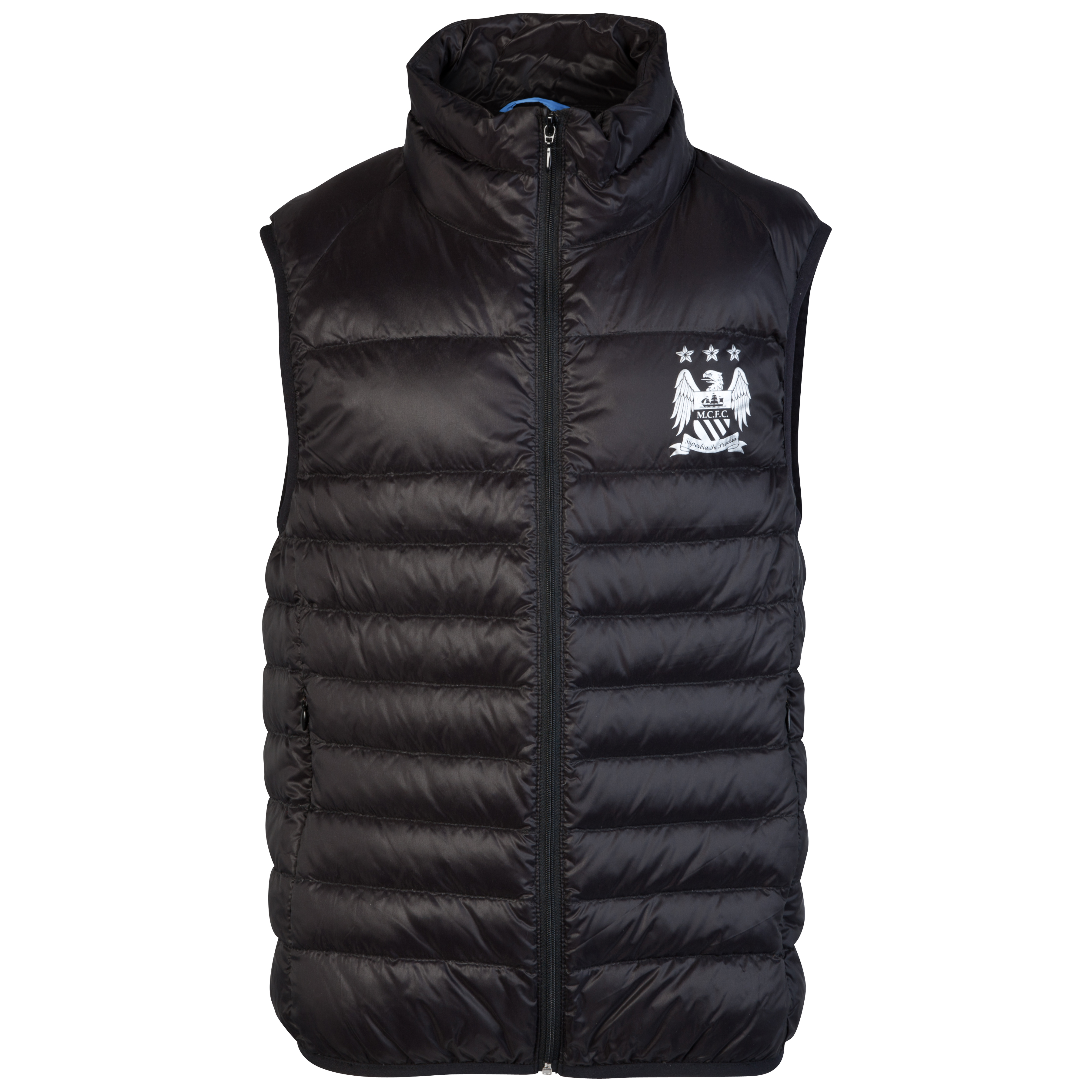Manchester City Performance Ravine Gilet - Black - Older Boys