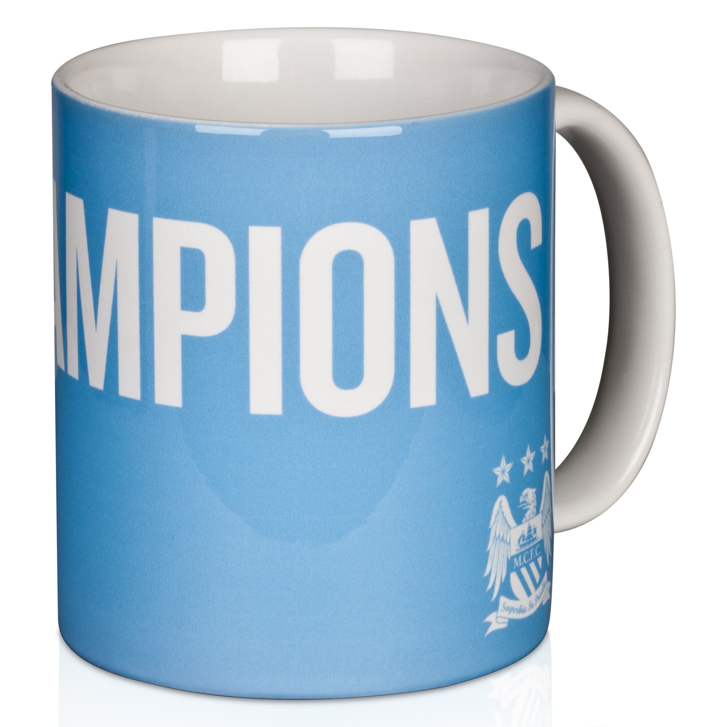 Manchester City #Champions 11/12 Logo 11oz Mug