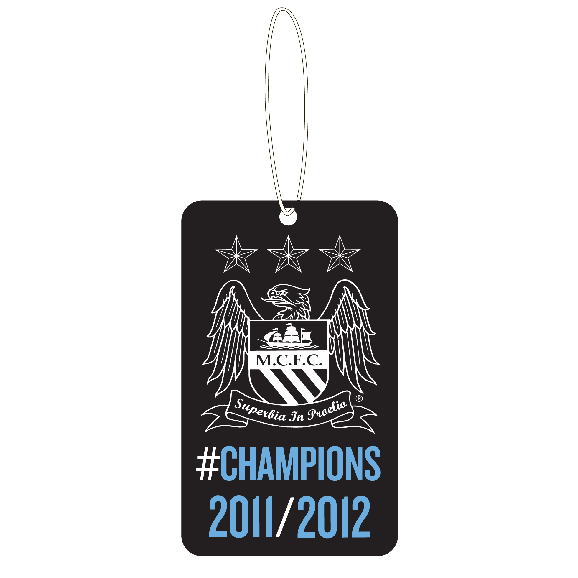 Manchester City #Champions 11/12 Air Freshener
