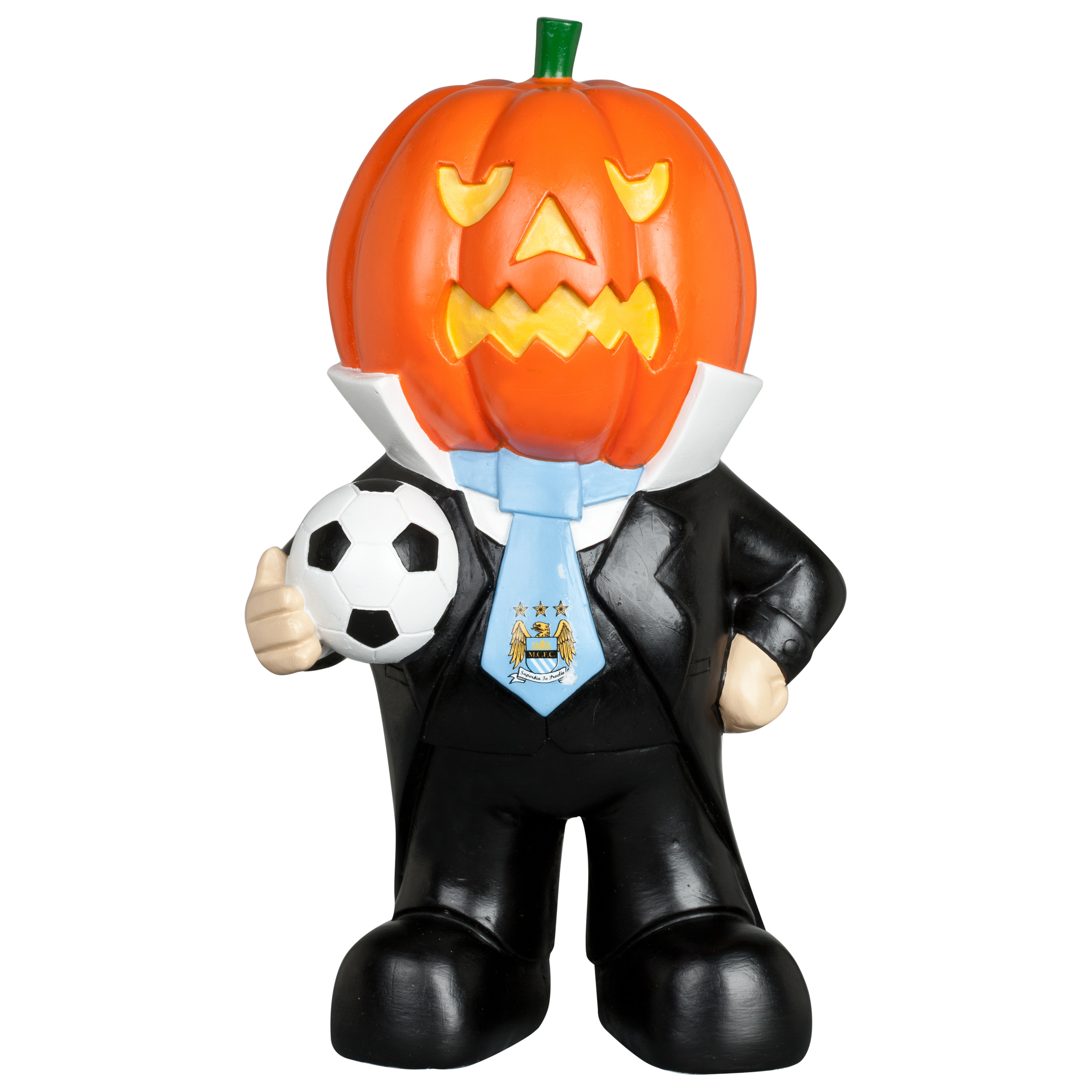 Manchester City Halloween Pumpkin Gnome