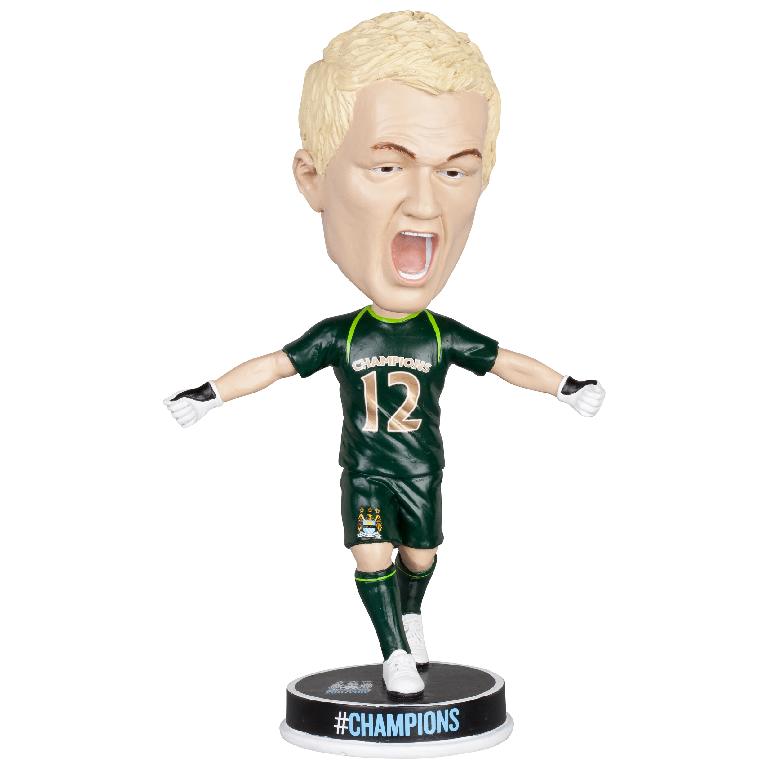 Manchester City #Champions 11/12 Hart Bobble Head